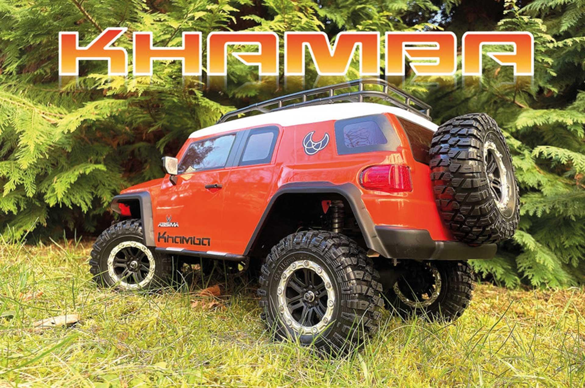 "ABSIMA CR3.4 ""KHAMBA"" 1/10 Orange RTR Crawler"
