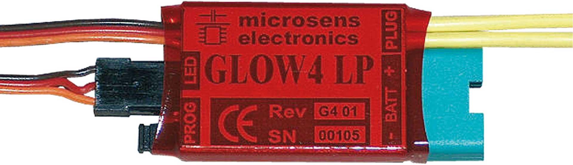 MICROSENS GLOW 4 LIPO 1XLIXX/2-3XNIXX GLÜHHEIZUNG