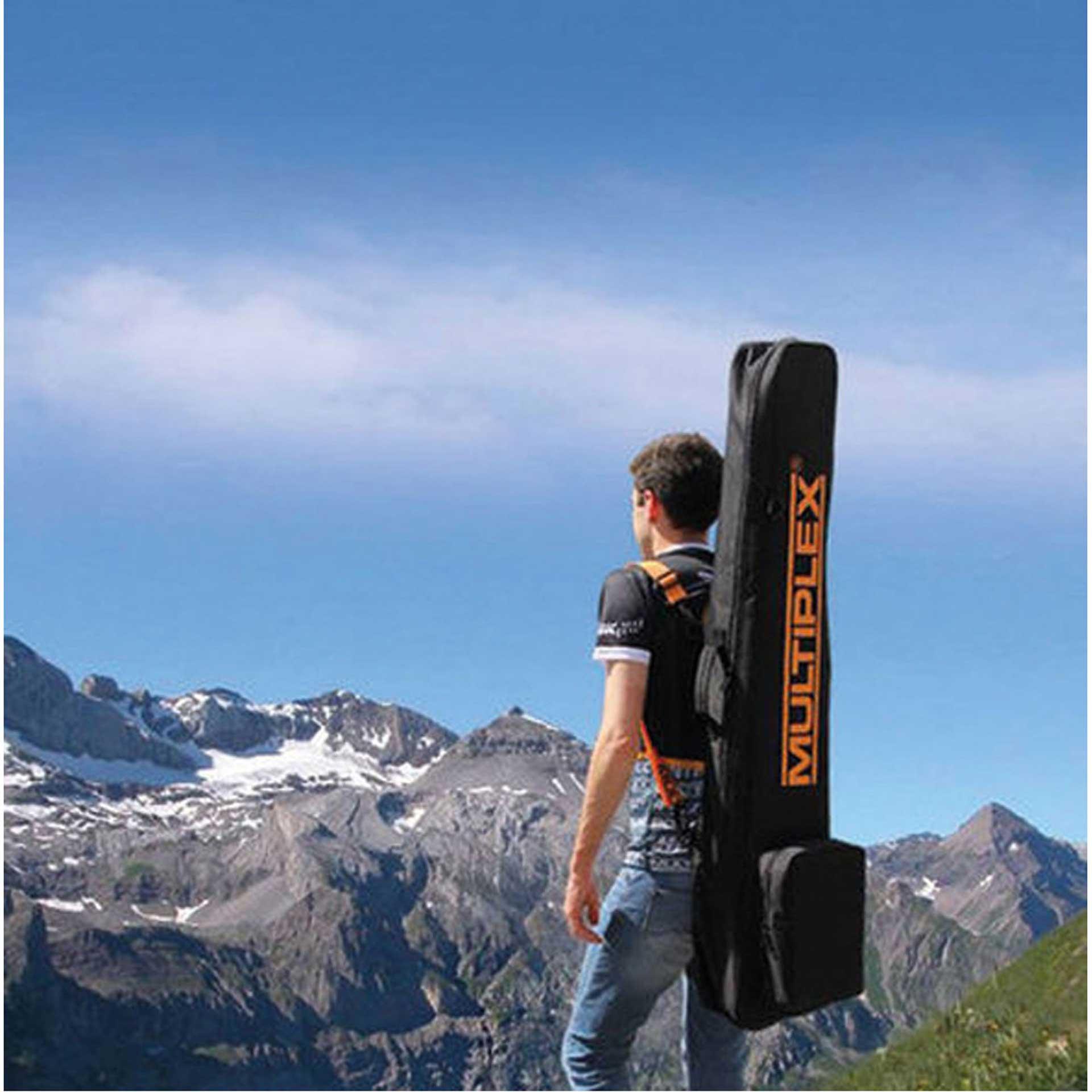 MULTIPLEX MODEL BACKPACK UNIVERSAL 1270/150/270MM MODEL BAG FOR GLIDER BIS APPROX. 2.5M