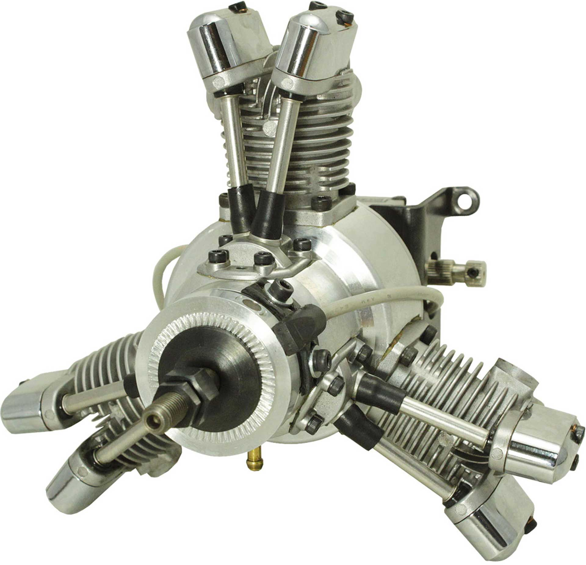 SAITO FG-19R3 PETROL ENGINE 3-CYLINDER RADIAL ENGINE WITH ELECTRONIC IGNITION