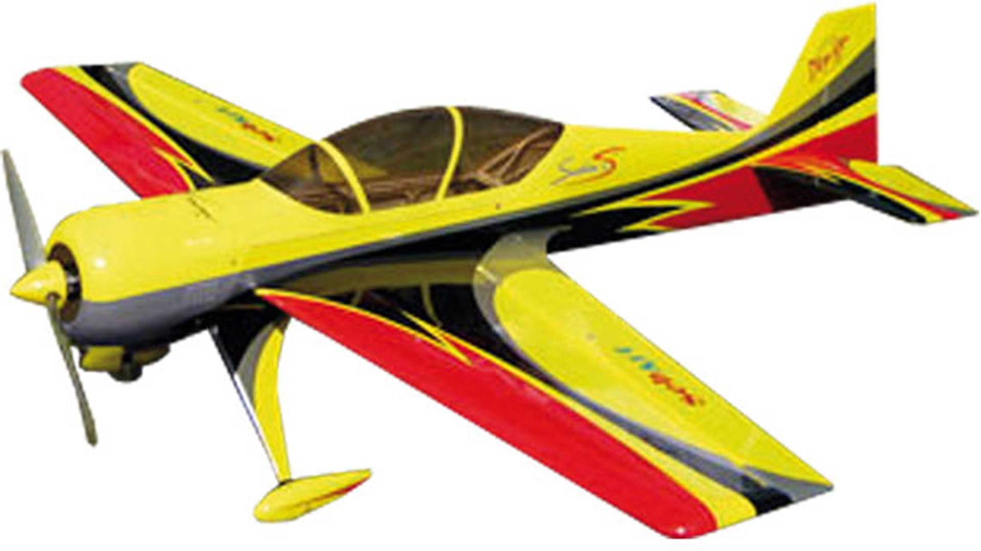 SEBART SUKHOI 29 V.2 50E YELLOW / BLACK ARF