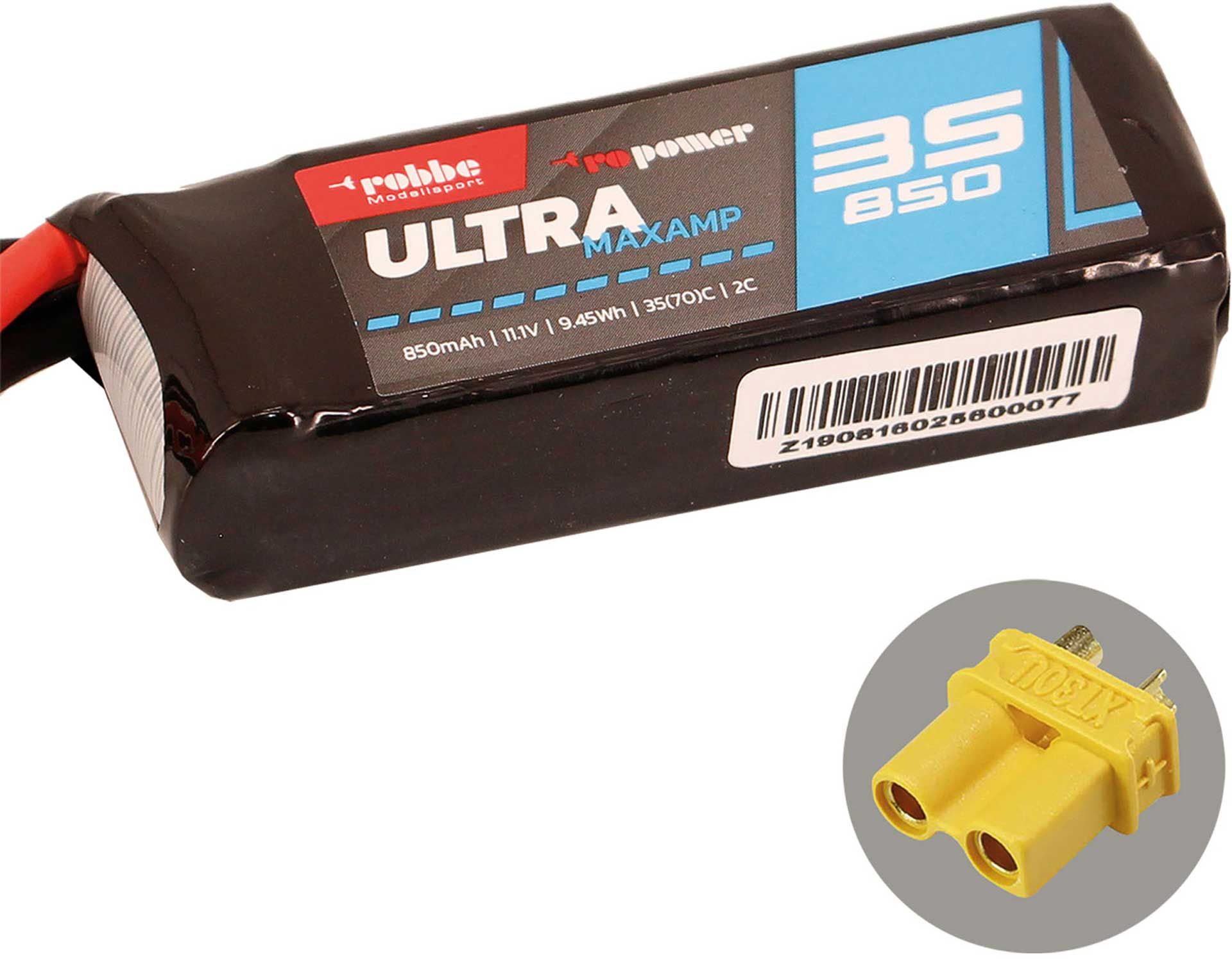 ROBBE RO-POWER ULTRA MAXAMP 850MAH 11,1 VOLT