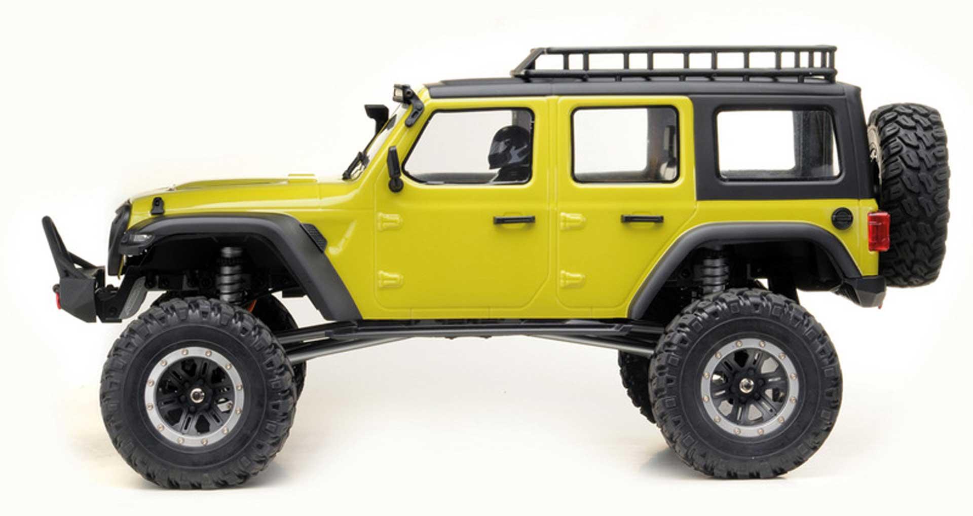 """ABSIMA CR1.8 """"YUCATAN"""" 1/8 Lime-Green 4WD RTR Crawler"""
