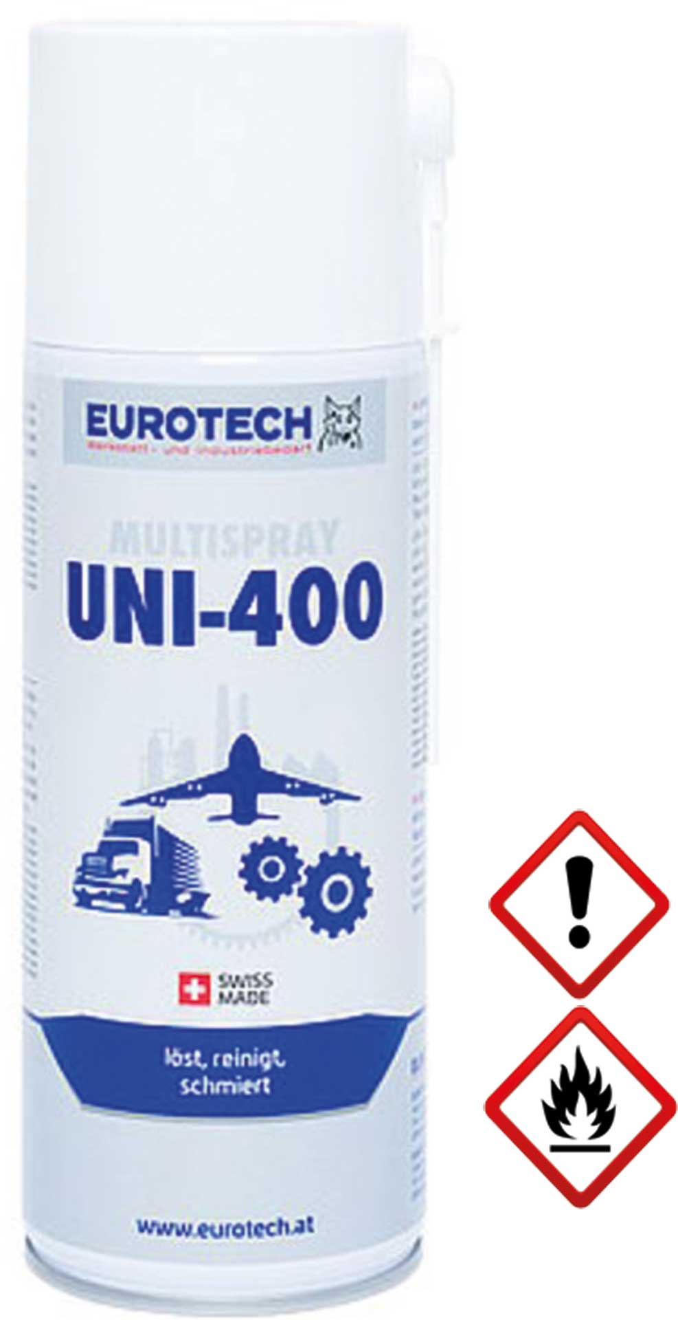 EUROTECH UNI 400 UNIVERSALSPRAY 400ML