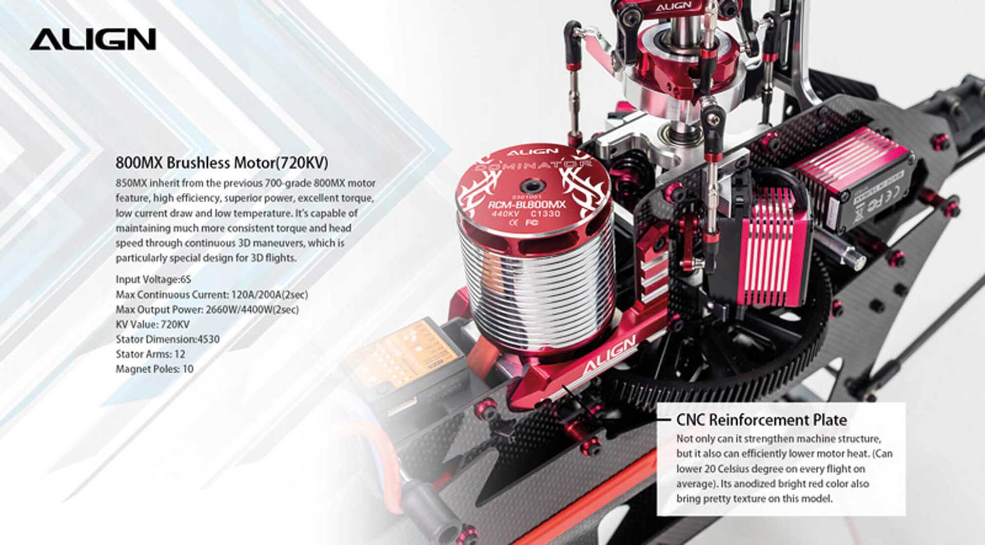 ALIGN T-REX 650X Dominator Super Combo (6S)