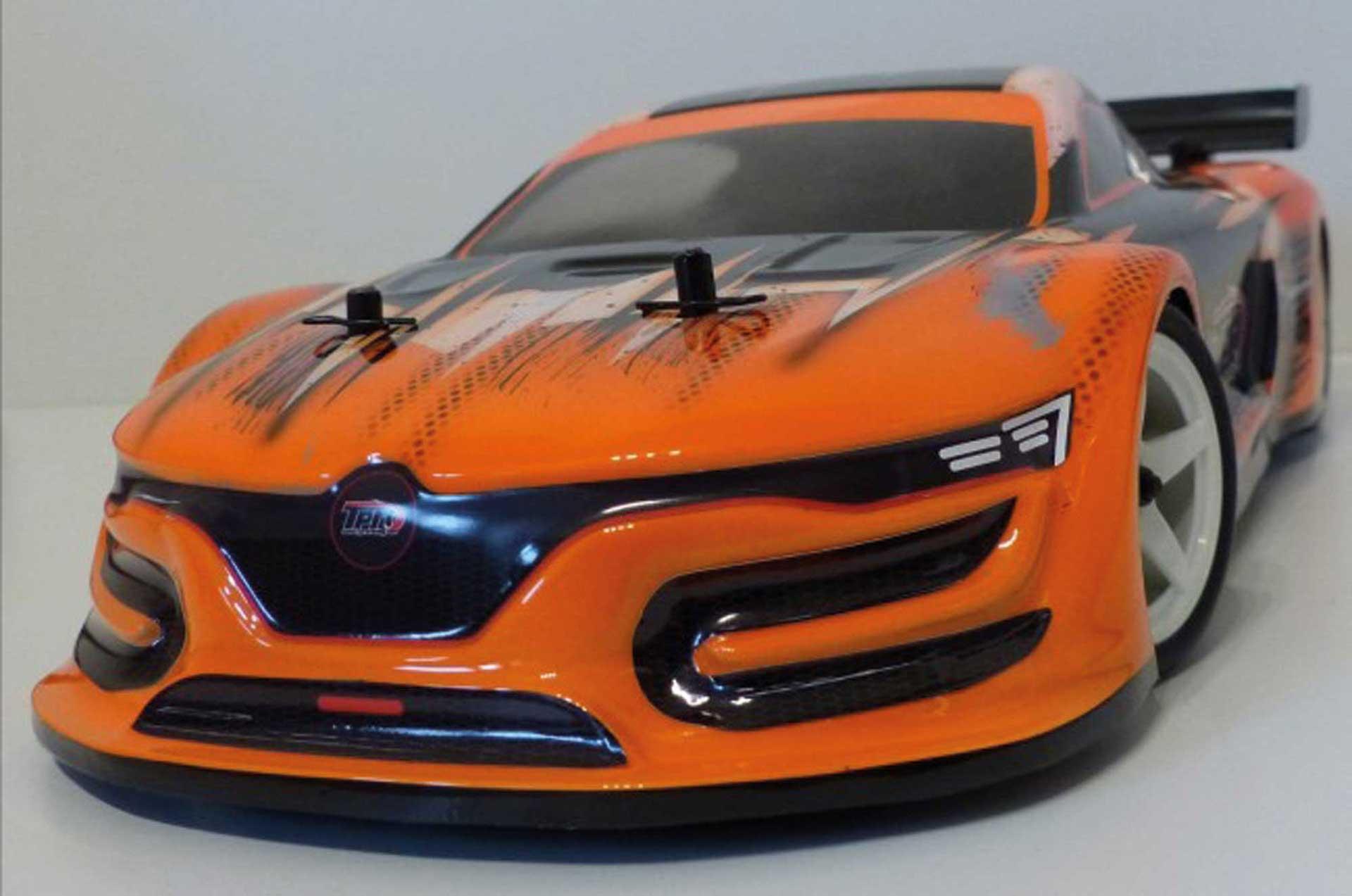 TPRO Body GT3 Touring Car unpainted incl. Sticker