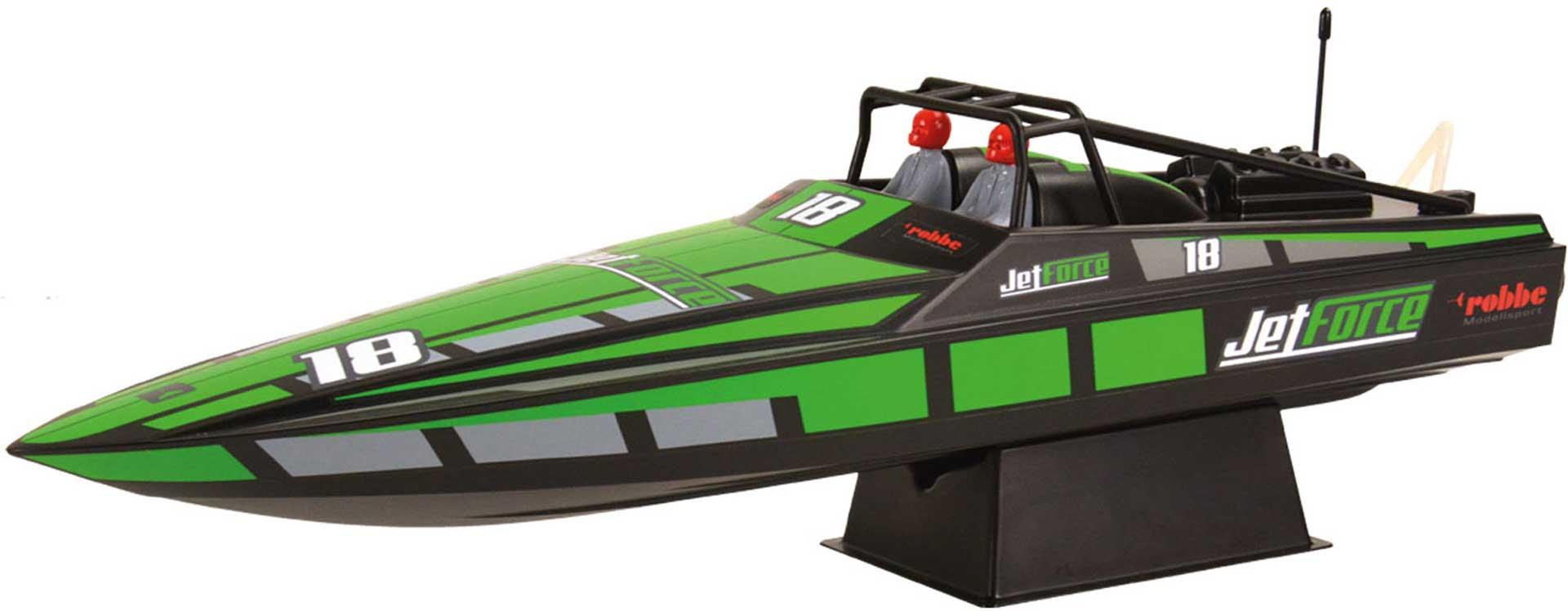 ROBBE JET FORCE RACE BOAT 1:6 ARTR B-WARE / 2.WAHL SVR!!!!!