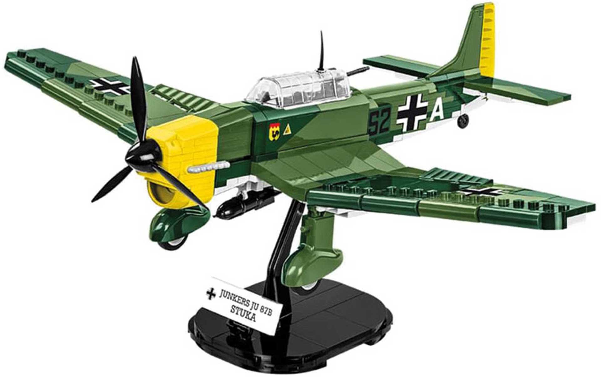 COBI Junkers JU 87B StuKa (370 Teile) Klemmbausteine