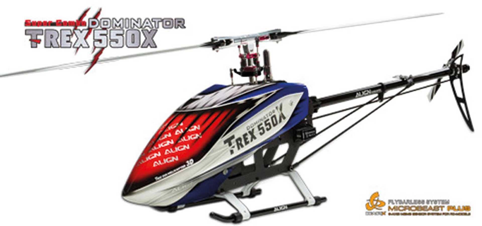ALIGN T-REX 550X DOMINATOR SUPER COMBO DS820/DS825 + MB