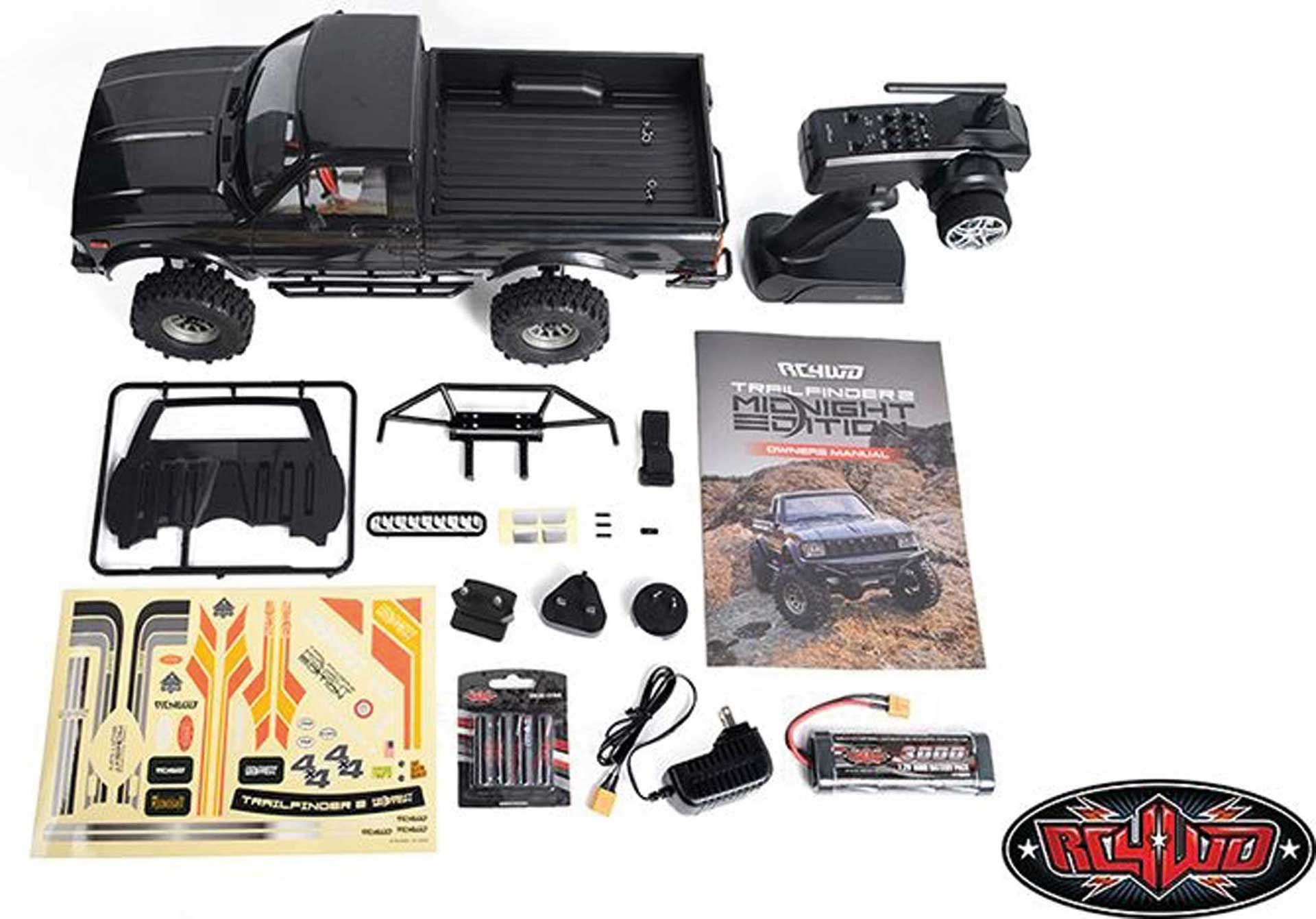 RC4WD Trail Finder 2 Midnight Edition RTR inkl. Mojave II Karosserie