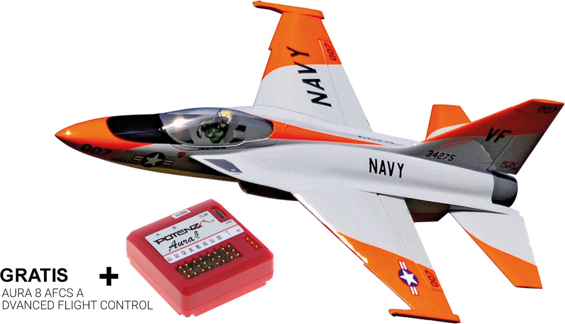 FLEX INNOVATIONS Flexjet Pro 90mm EDF E-Impeller Jet ARF+ inkl. Aura 8 AFCS Aktion SVR!!