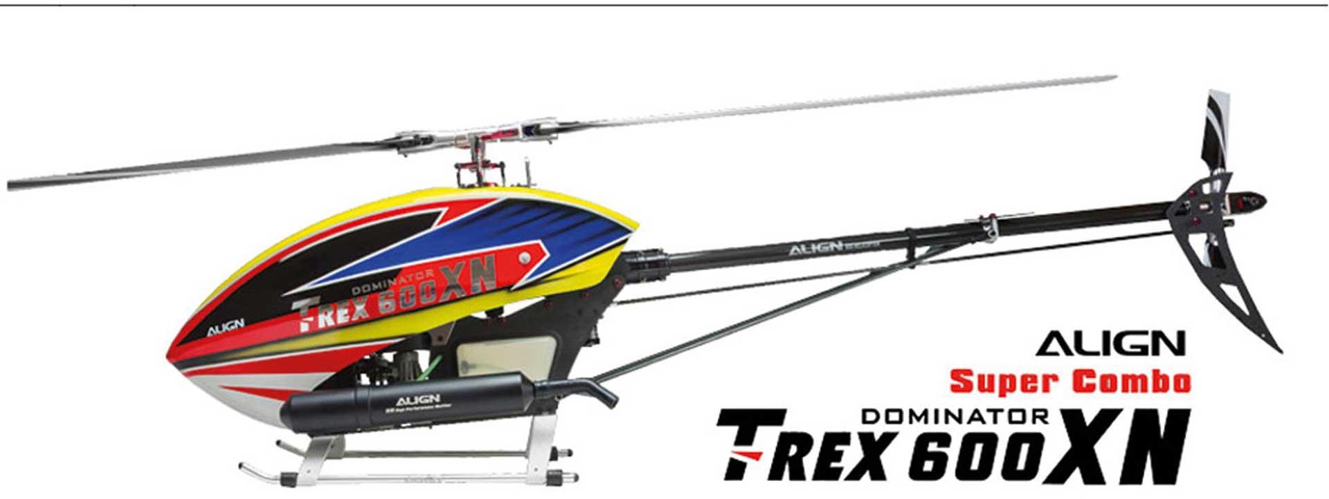 ALIGN T-REX 600XN NITRO SUPER COMBO Hubschrauber / Helikopter