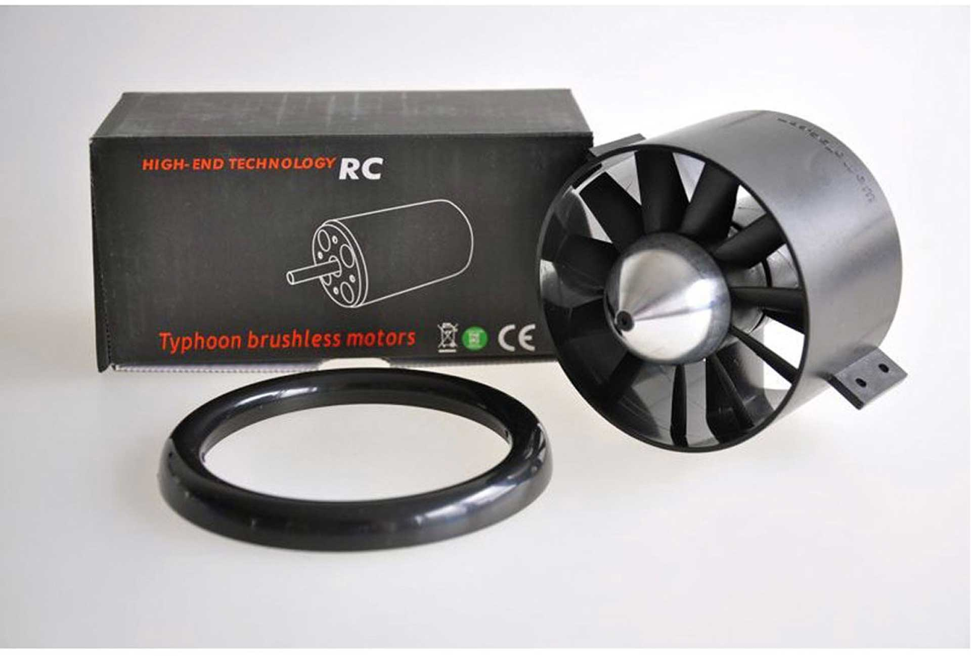 WEMOTEC MIDI FAN EVO IMPELLER / HET 650-58-1760 COMPLETELY ASSEMBLED, FINELY BALANCED AND HARMONIOUSLY MATCHED