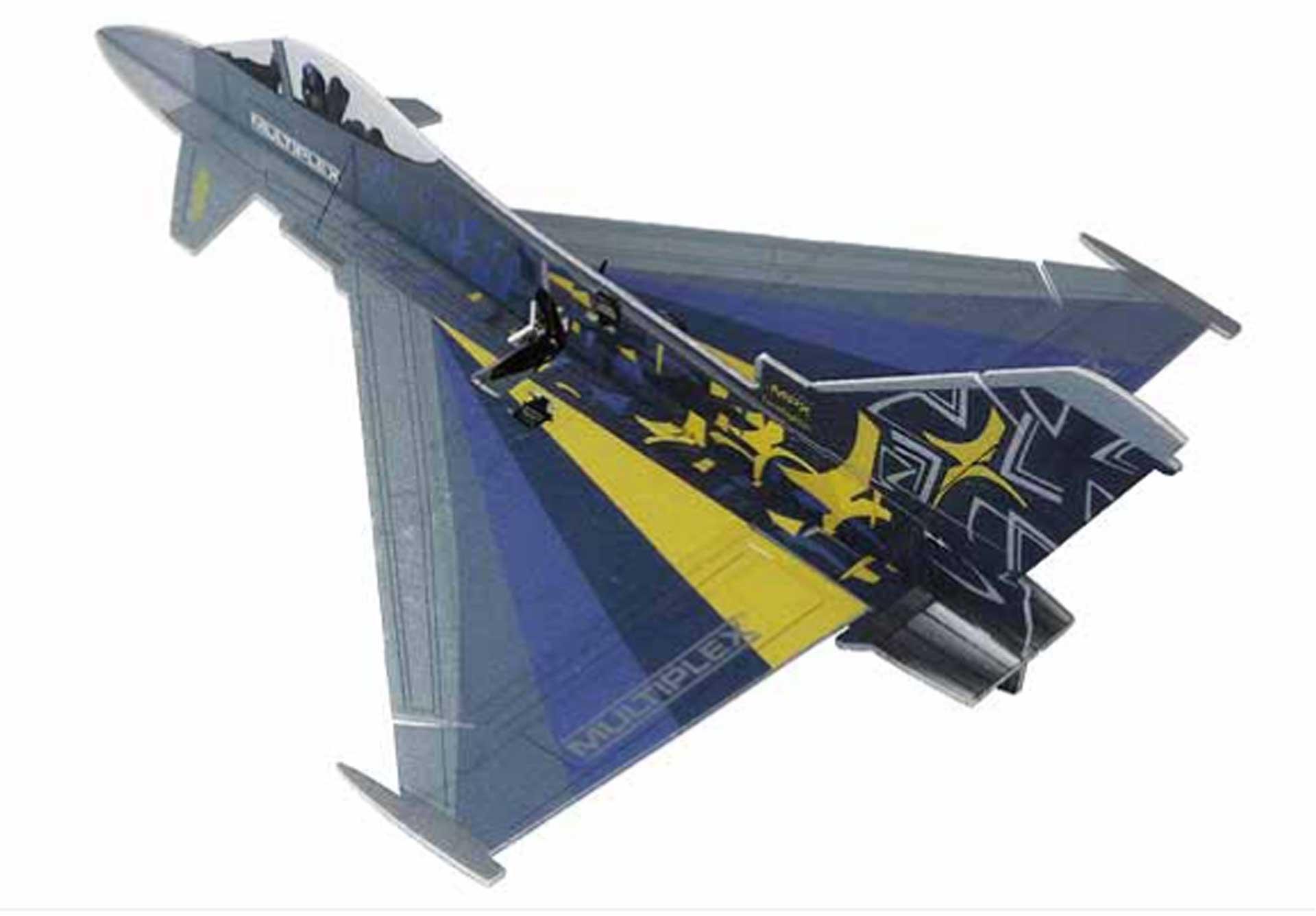 Multiplex Eurofighter Indoor 3D Jet
