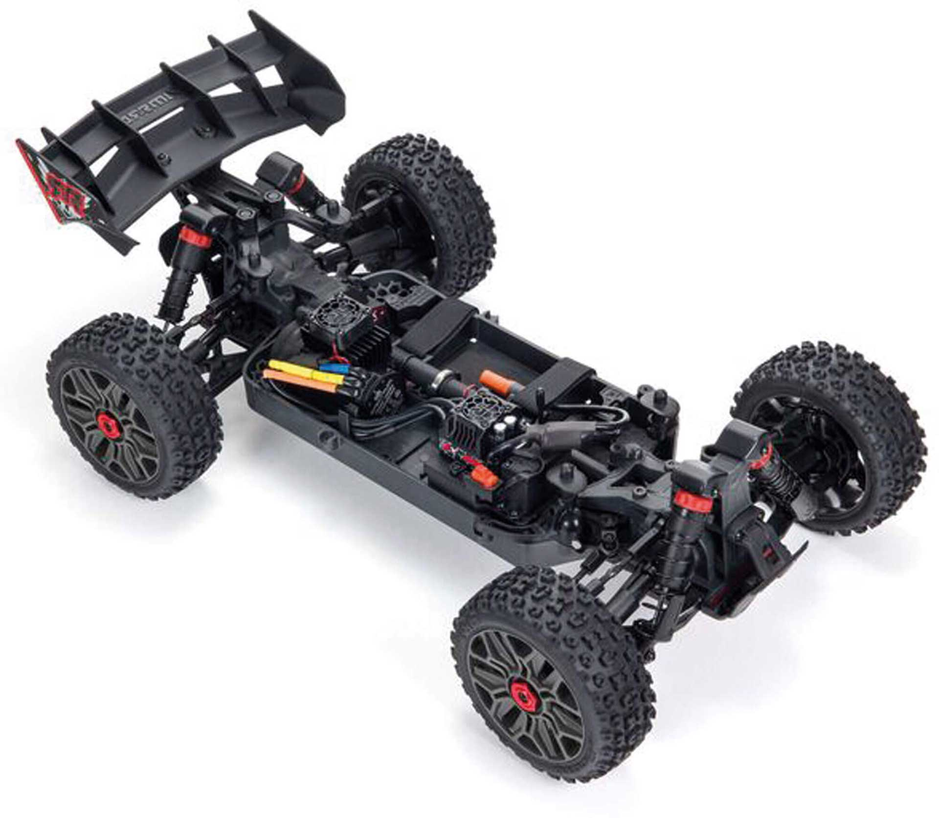 ARRMA TYPHON 4X4 3S BLX Brushless 1/8th 4wd Buggy Red
