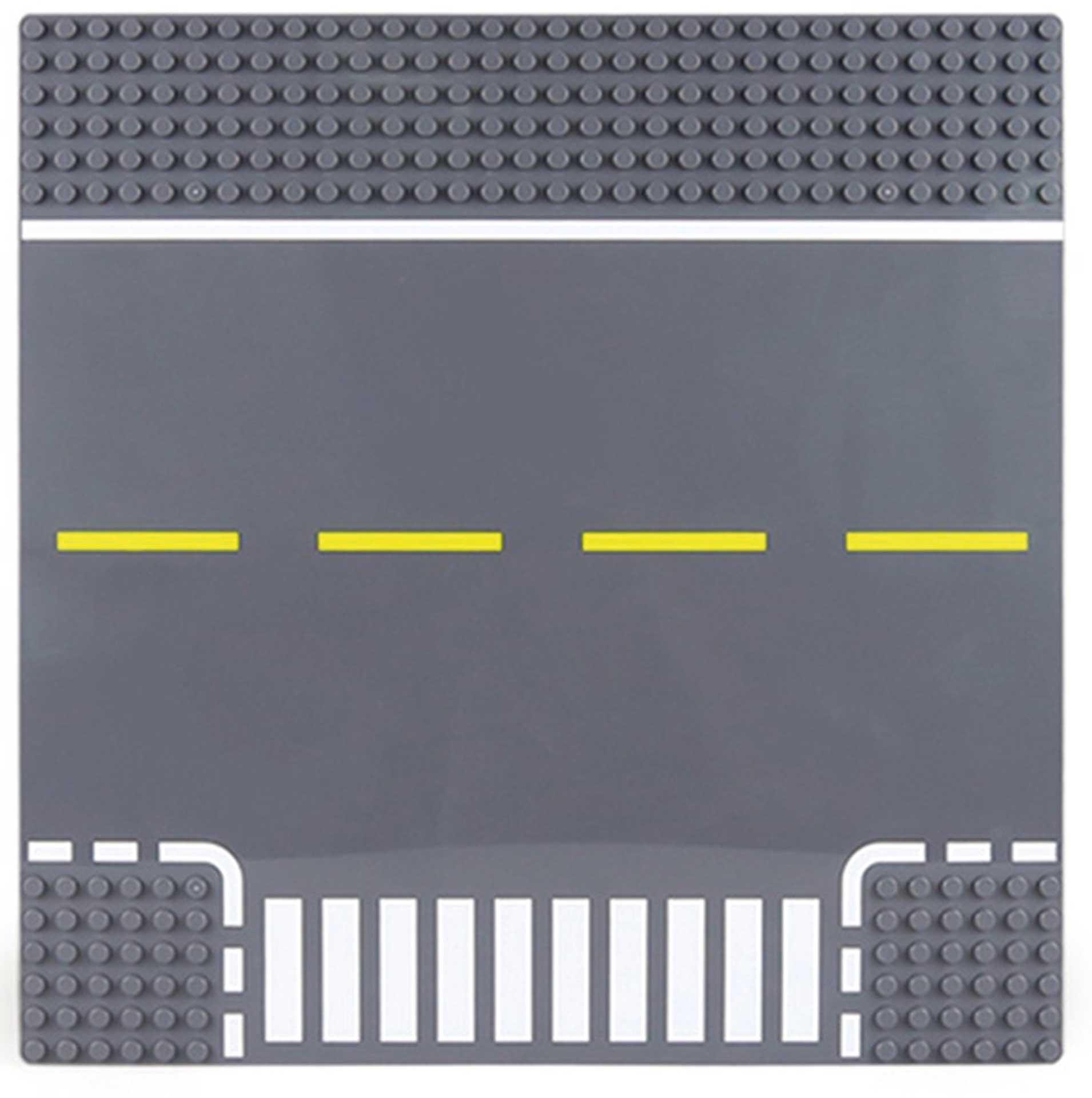 Wange Grundplatte Straße T-Kreuzung 32x32 Nopp 25,5cm x 25,5cm