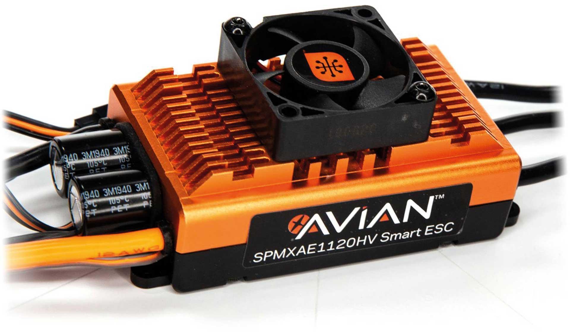 SPEKTRUM Avian 120 Amp HV Smart ESC 6-12S