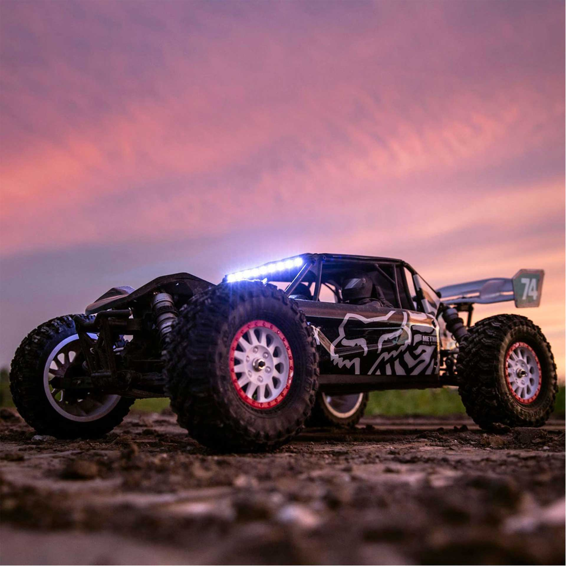 LOSI TENACITY DB PRO SMART 4WD DESERT BUGGY RTR 1/10 BRUSHLESS FOX RACING
