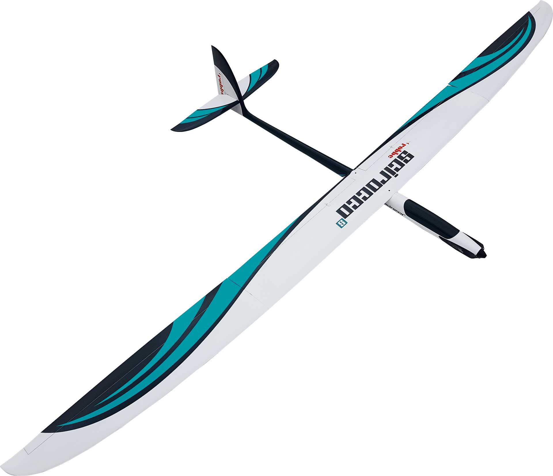 Robbe Modellsport SCIROCCO S 3,75M PNP en fibre de verre PLANEUR HAUTE PERFORMANCE AVEC VOLETS À 4 AILES