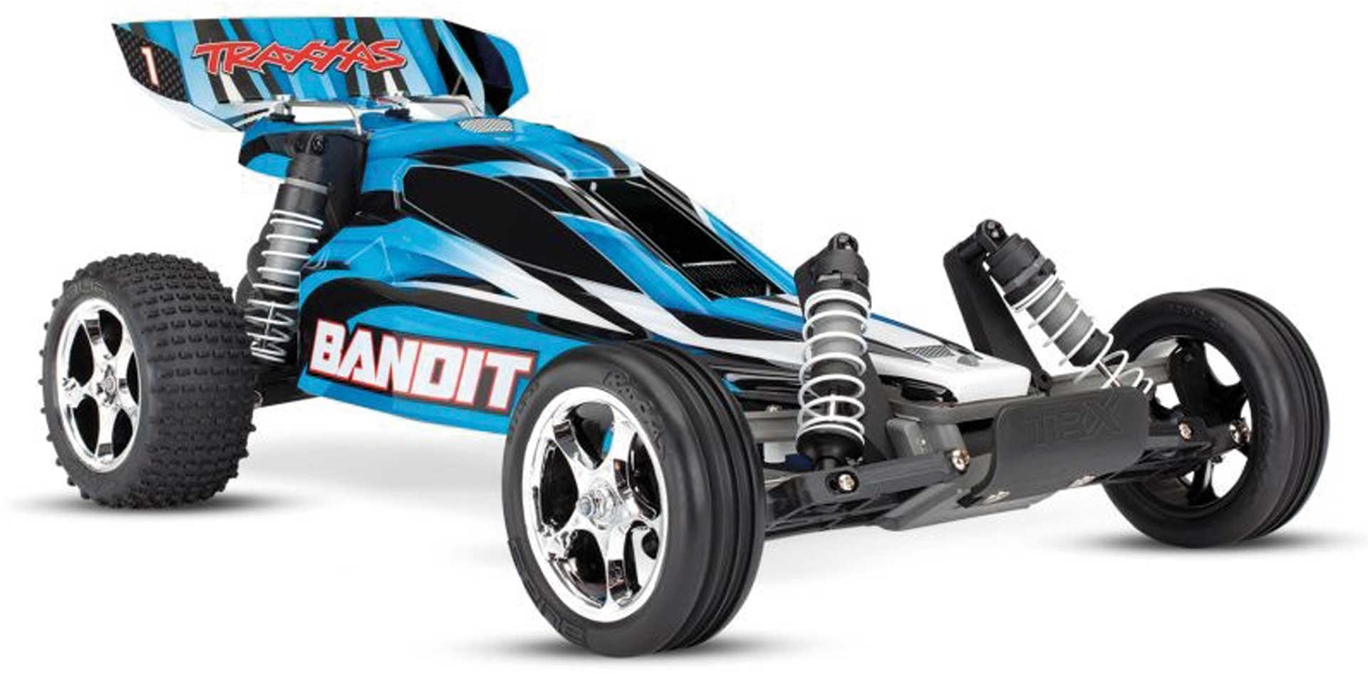 Traxxas BANDIT BLAU BUGGY RTR OHNE AKKU/LADER 1/10 2WD BUGGY BRUSHED