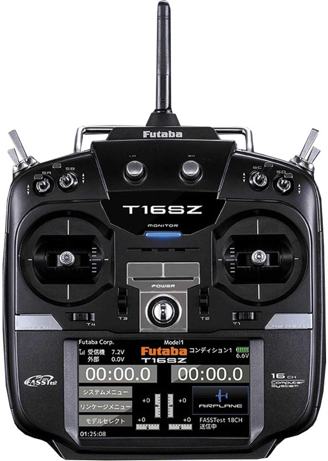 FUTABA T16SZ FASSTEST MIT R7008SB MODE 2