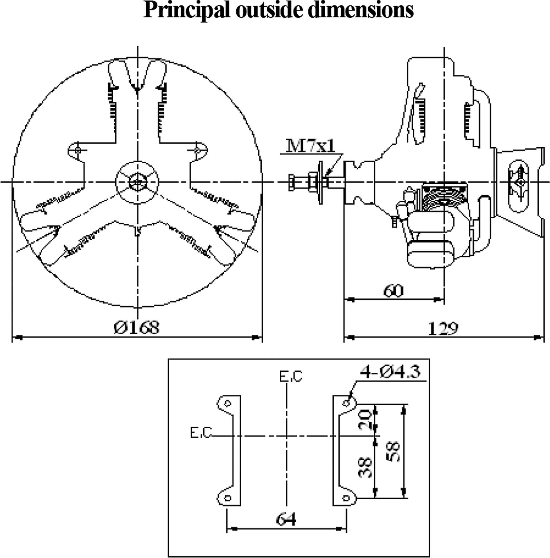 SAITO FA-120R3 3-ZYLINDER STERNMOTOR