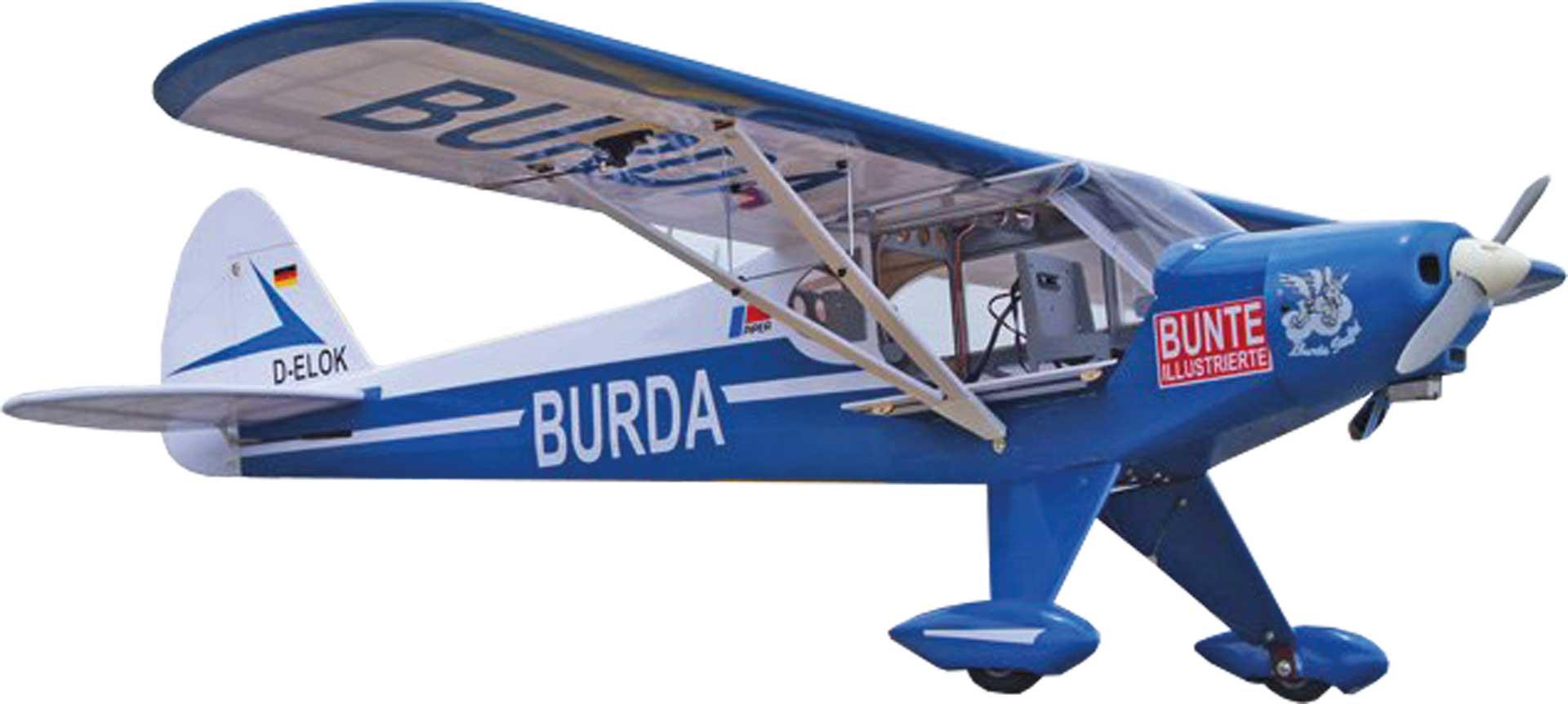 """VQ Models Super Cub """"Burda"""" ARF 1,62m"""