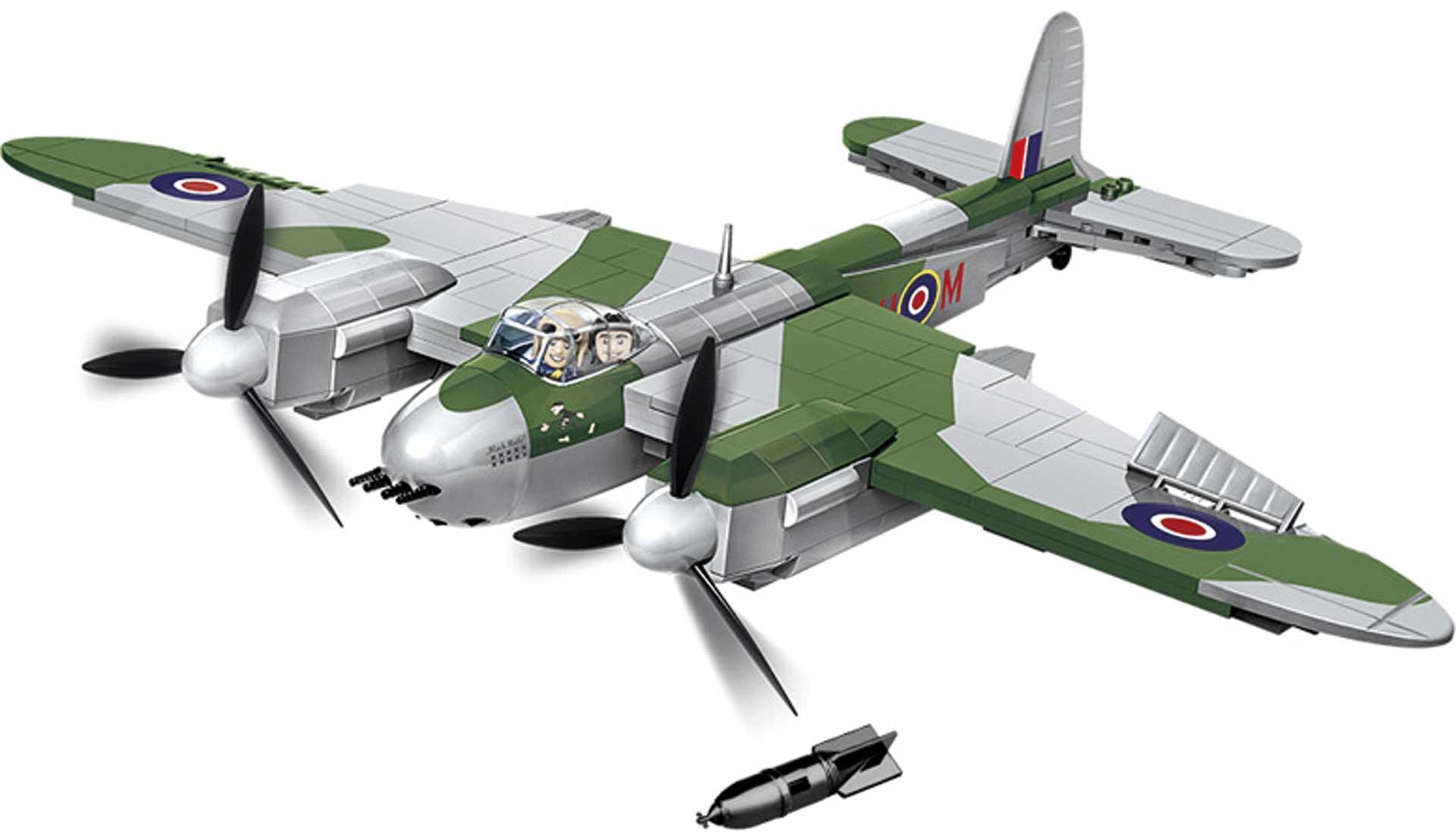 COBI De Havilland Mosquito FB Mk.VI 452 Teile Klemmbausteine