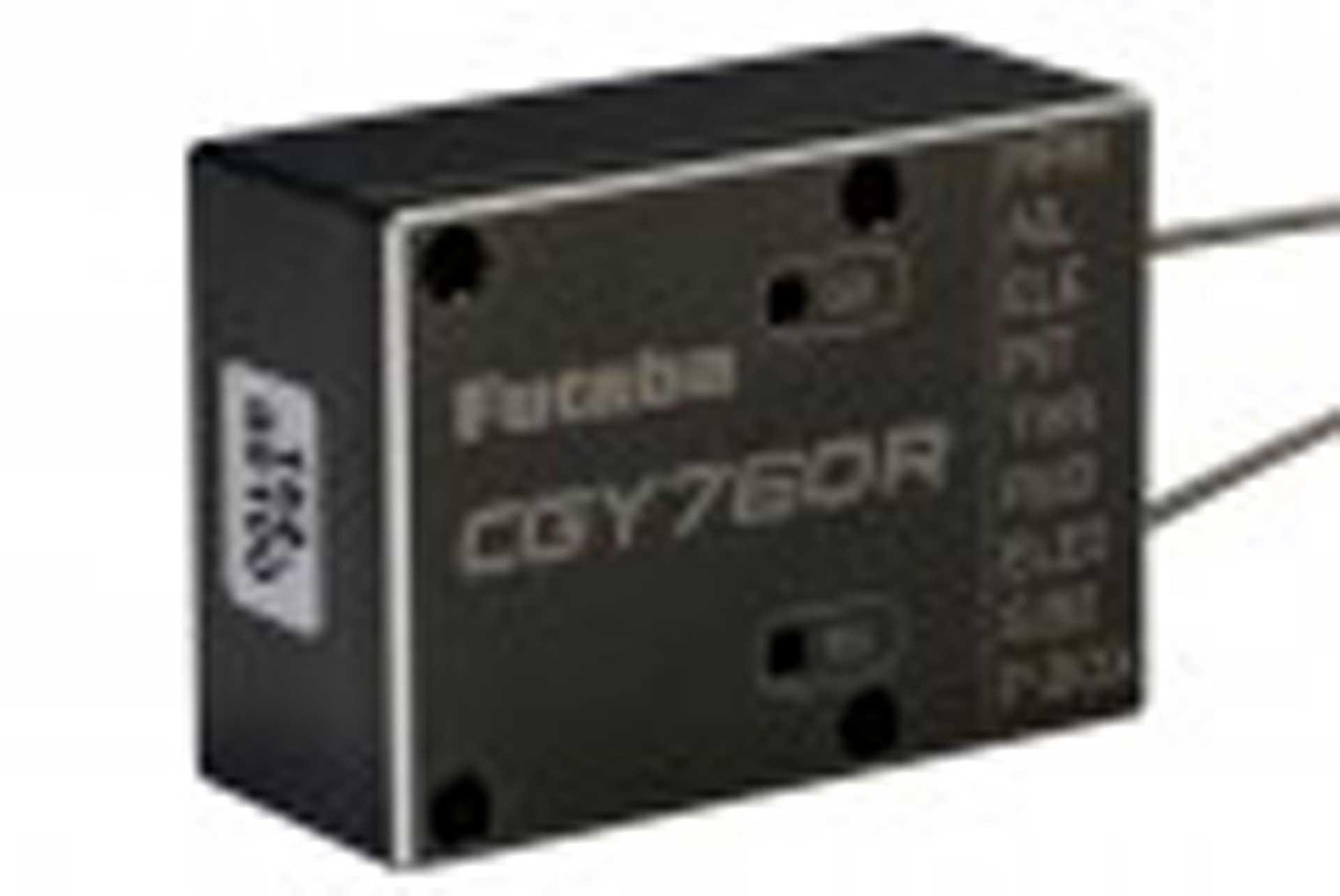 FUTABA CYG760R 3-AXIS GYRO WITH GPB-1 PROGRAM WITH PROGRAMMING BOX