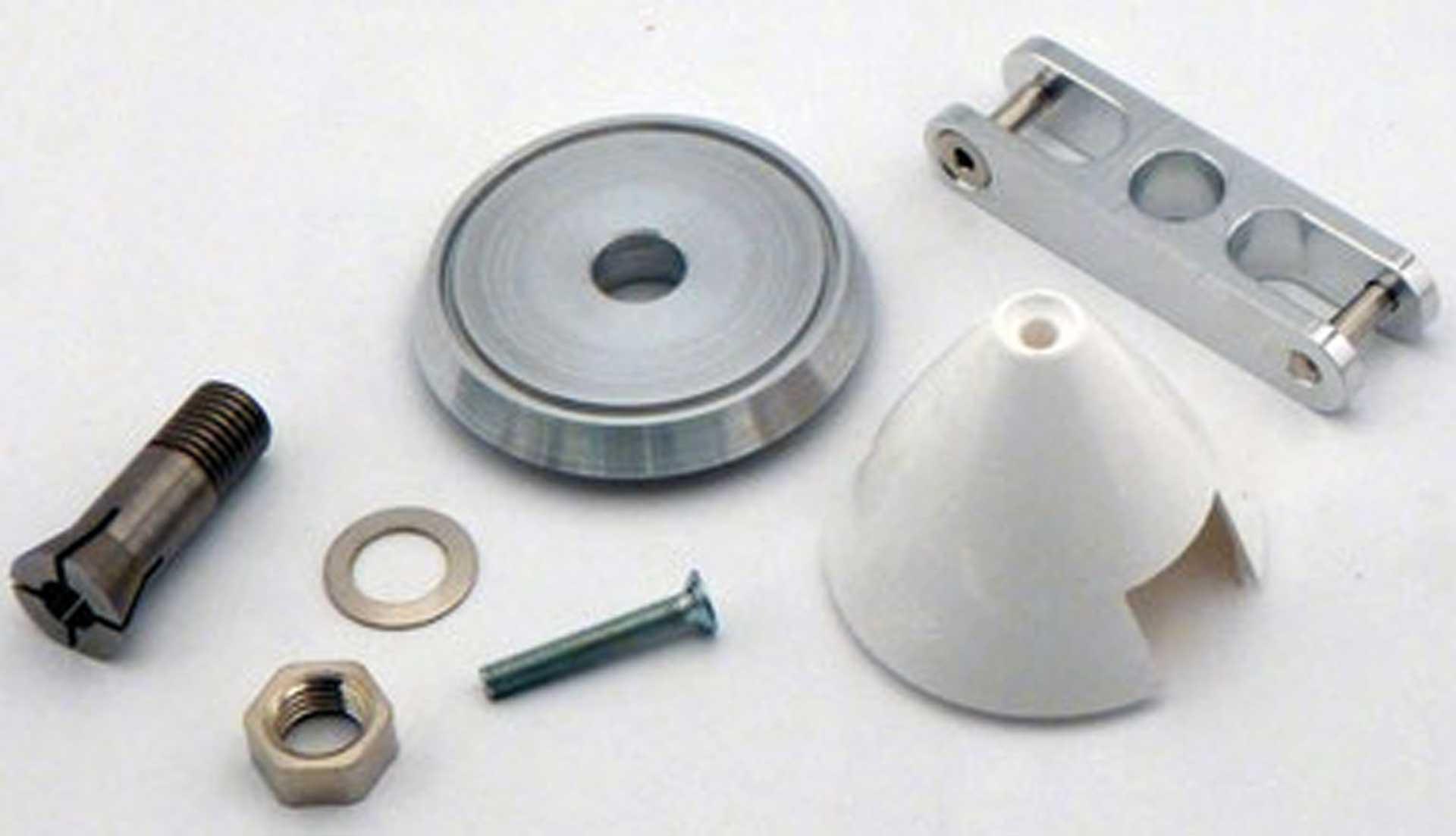 Super Präzisionsspinner 42/4,0 mm Metallmitnehmer 8mm Blattaufnahme