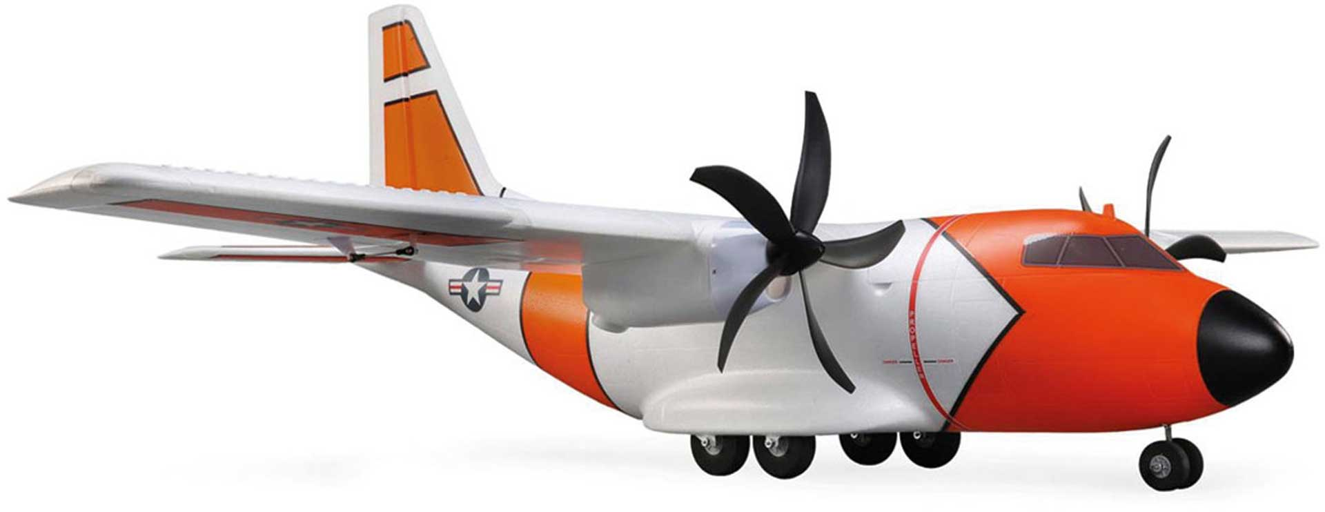 E-Flite CARGO EC-1500 TWIN 1.5M BNF BASIC AS3X AND SAFE SELECT