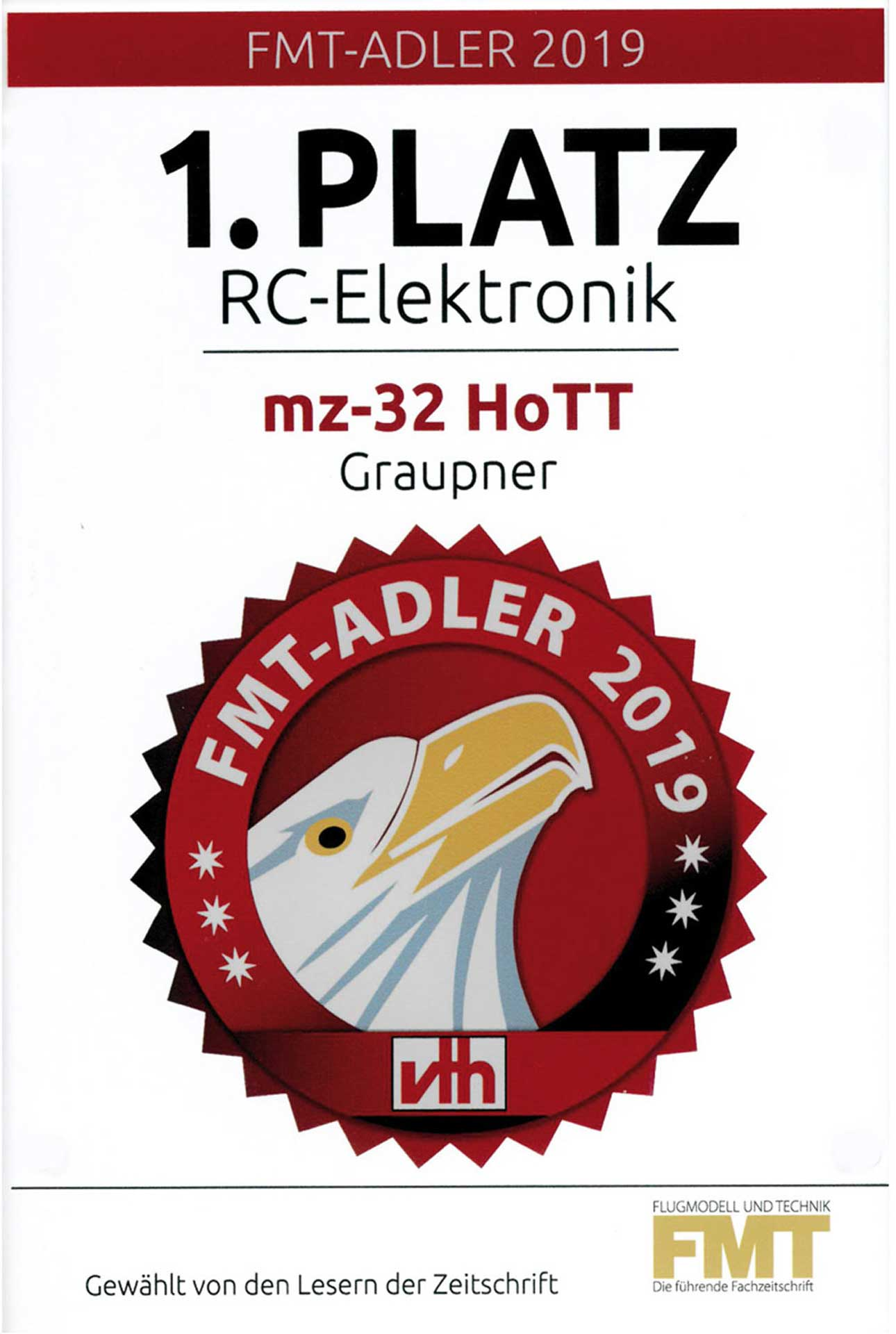 GRAUPNER MZ-32 HOTT SINGLE TRANSMITTER