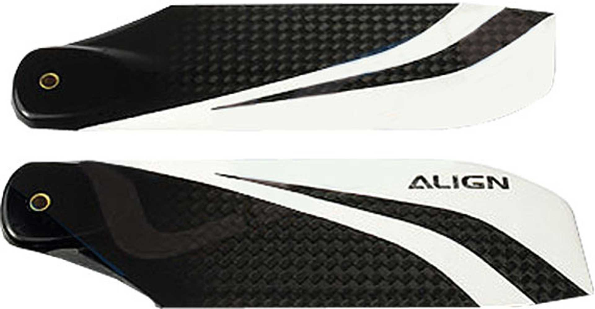 ALIGN TAIL ROTOR BLADES 106MM CARBON