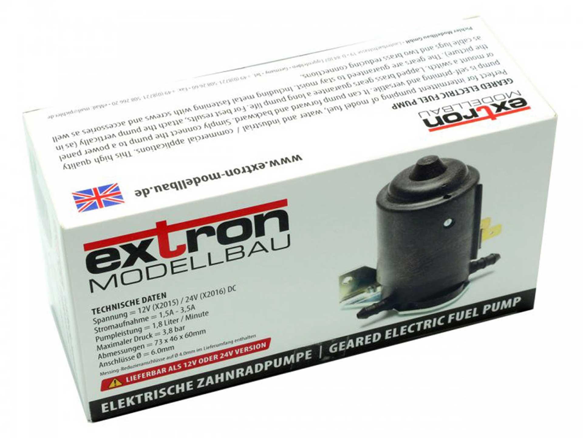 EXTRON ELECTRIC GEAR PUMP 24V