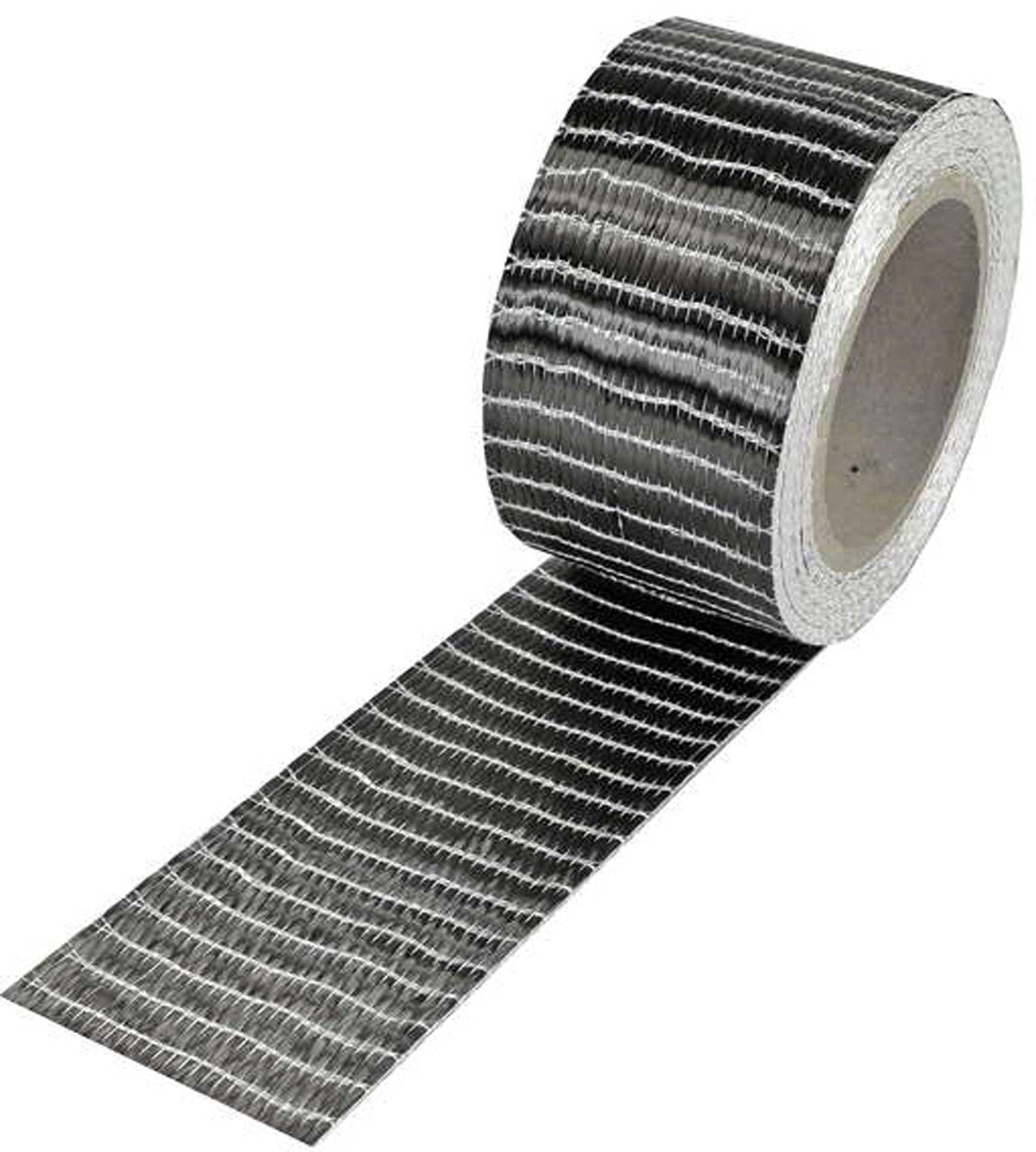 R&G Kohlefaserband 250 g, 6k, UD (50 mm) Rolle/ 10 m