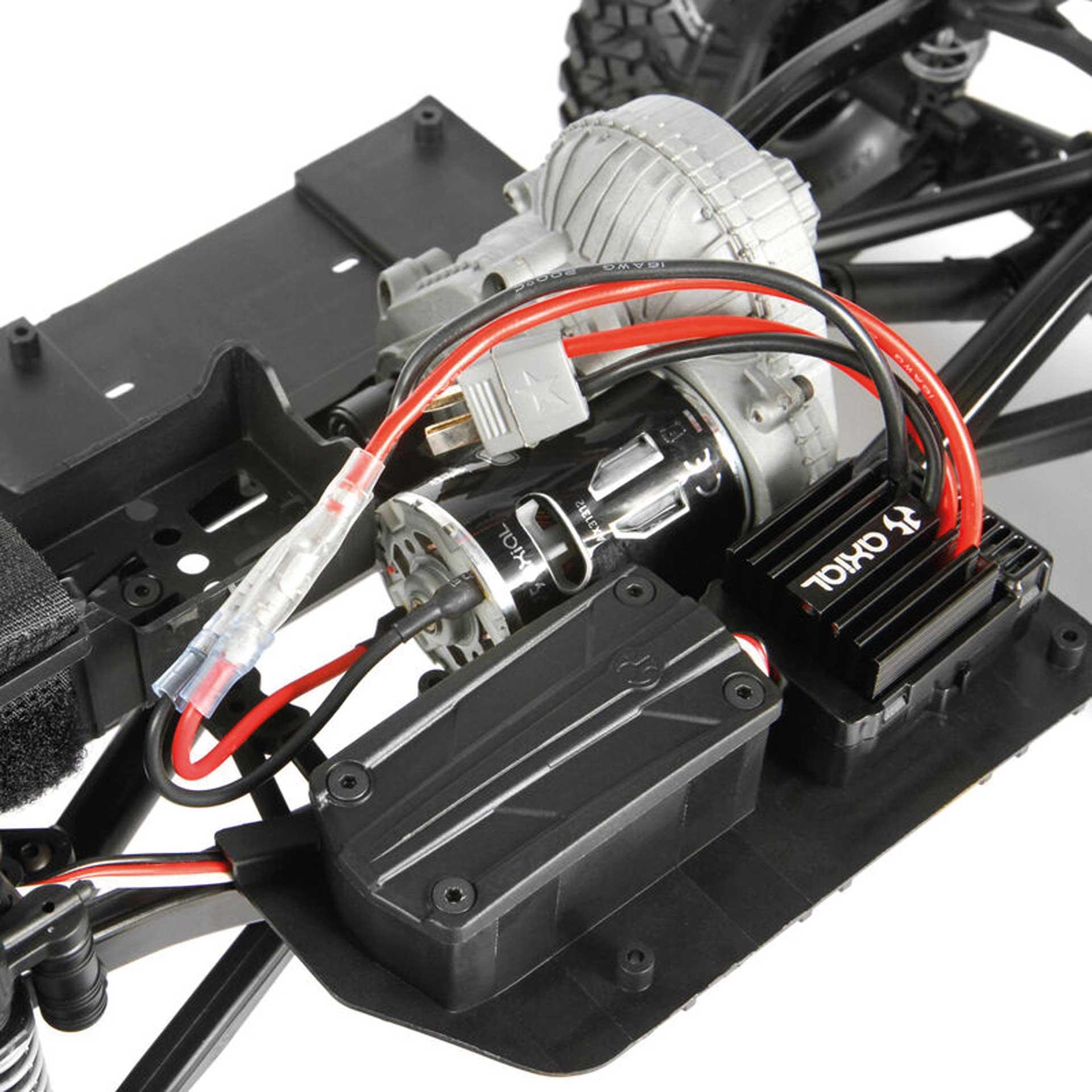 AXIAL SCX10 II Deadbolt 1/10 4WD RTR + Spektrum 2S Powerstage-Bundle