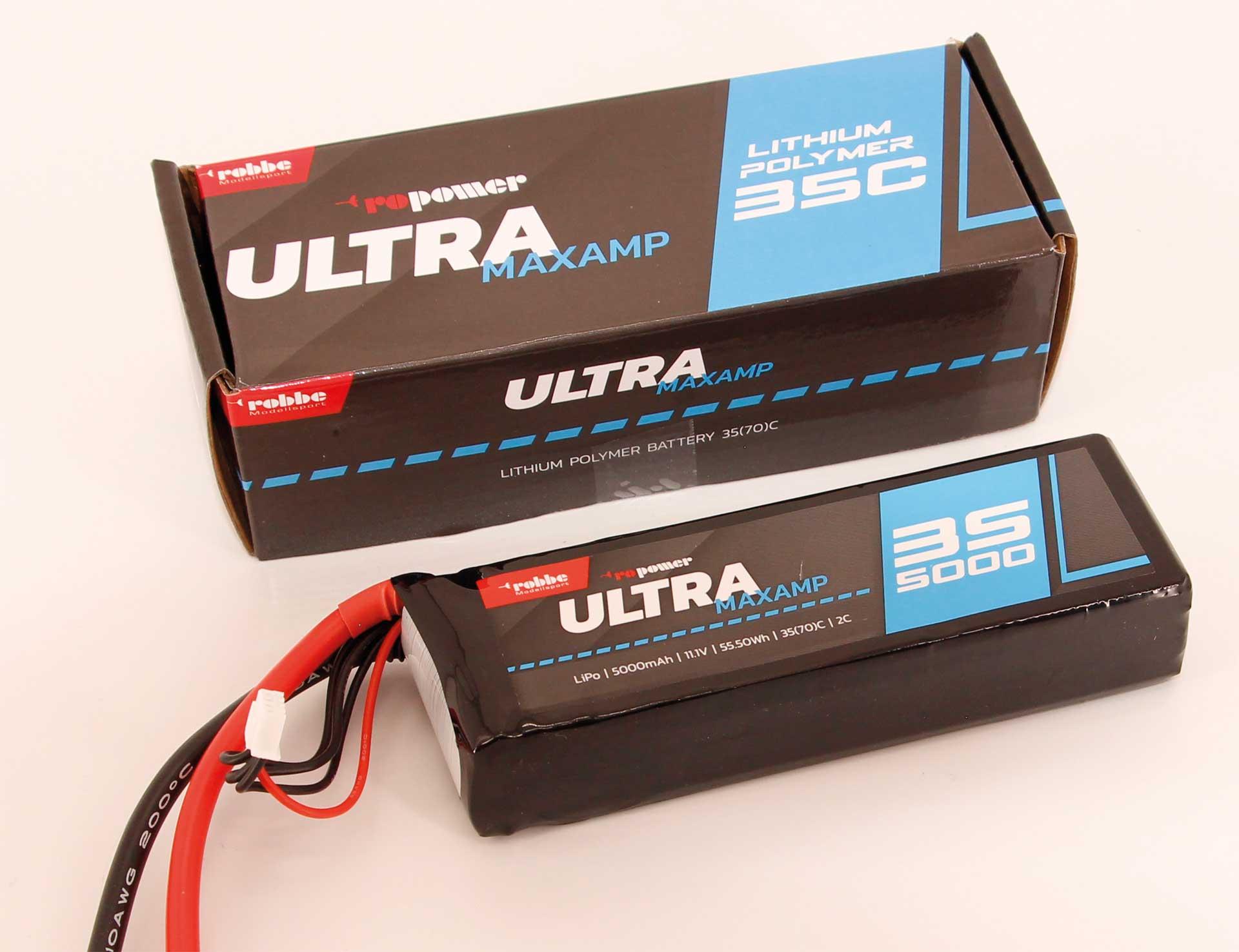 ROBBE RO-POWER ULTRA MAXAMP 5000MAH 11,1 VOLT