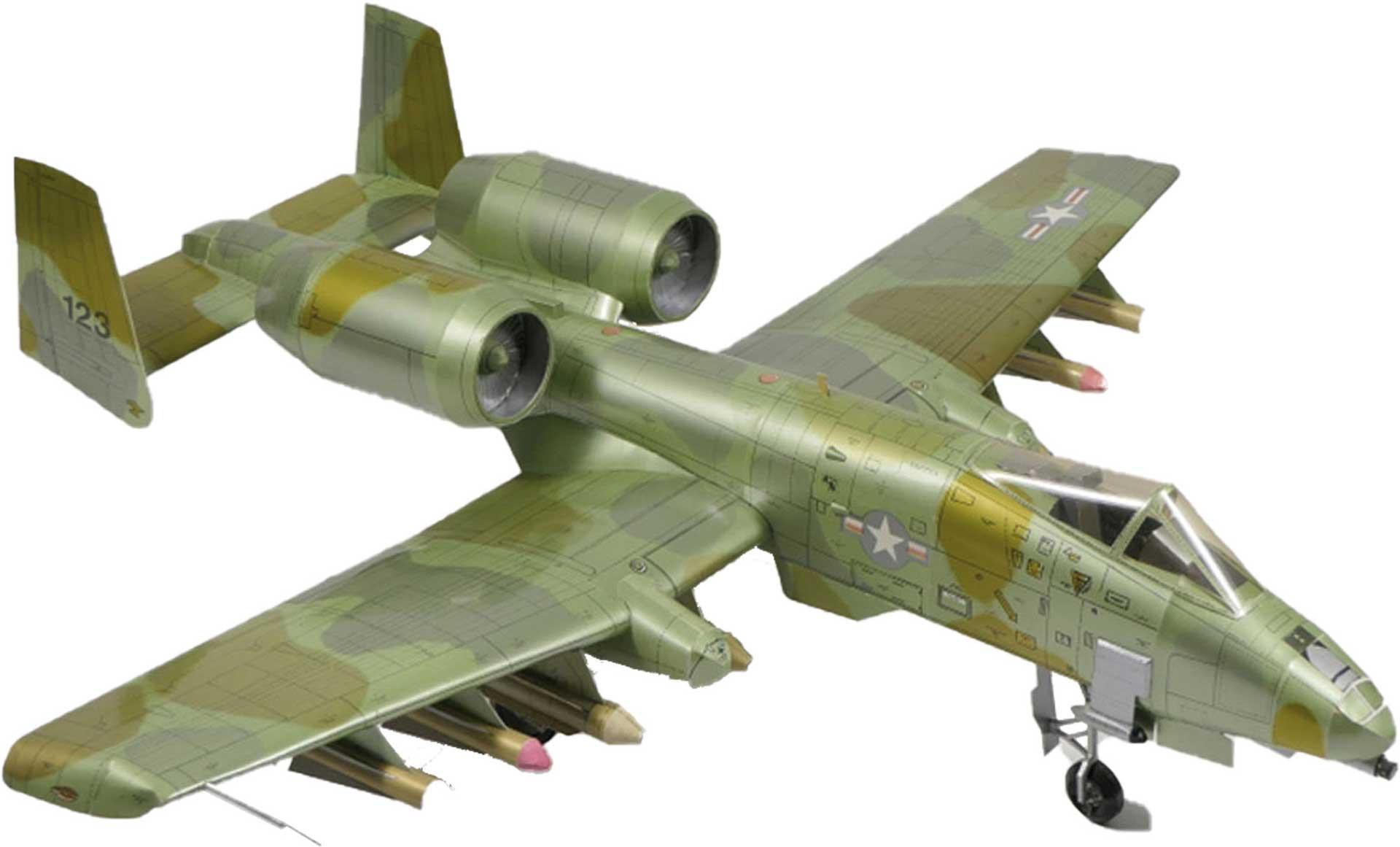 GELI FAIRCHILD A-10 KARTONMODELL