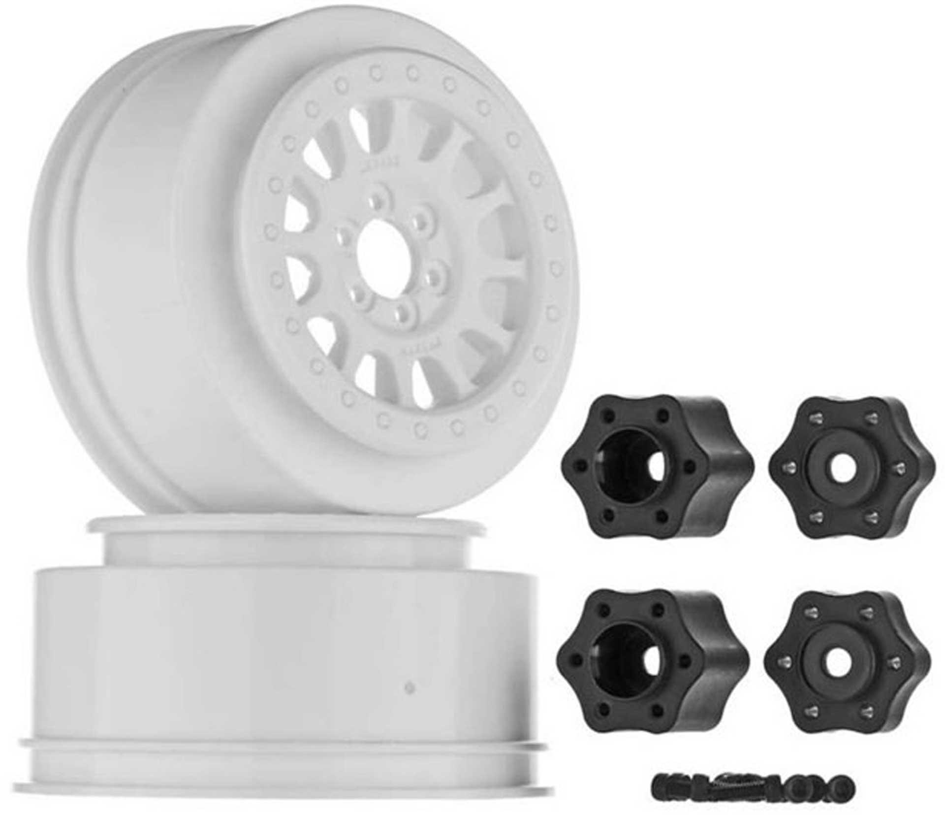 AXIAL 2.2 3.3 Method 105 Wheel 41mm White (2)