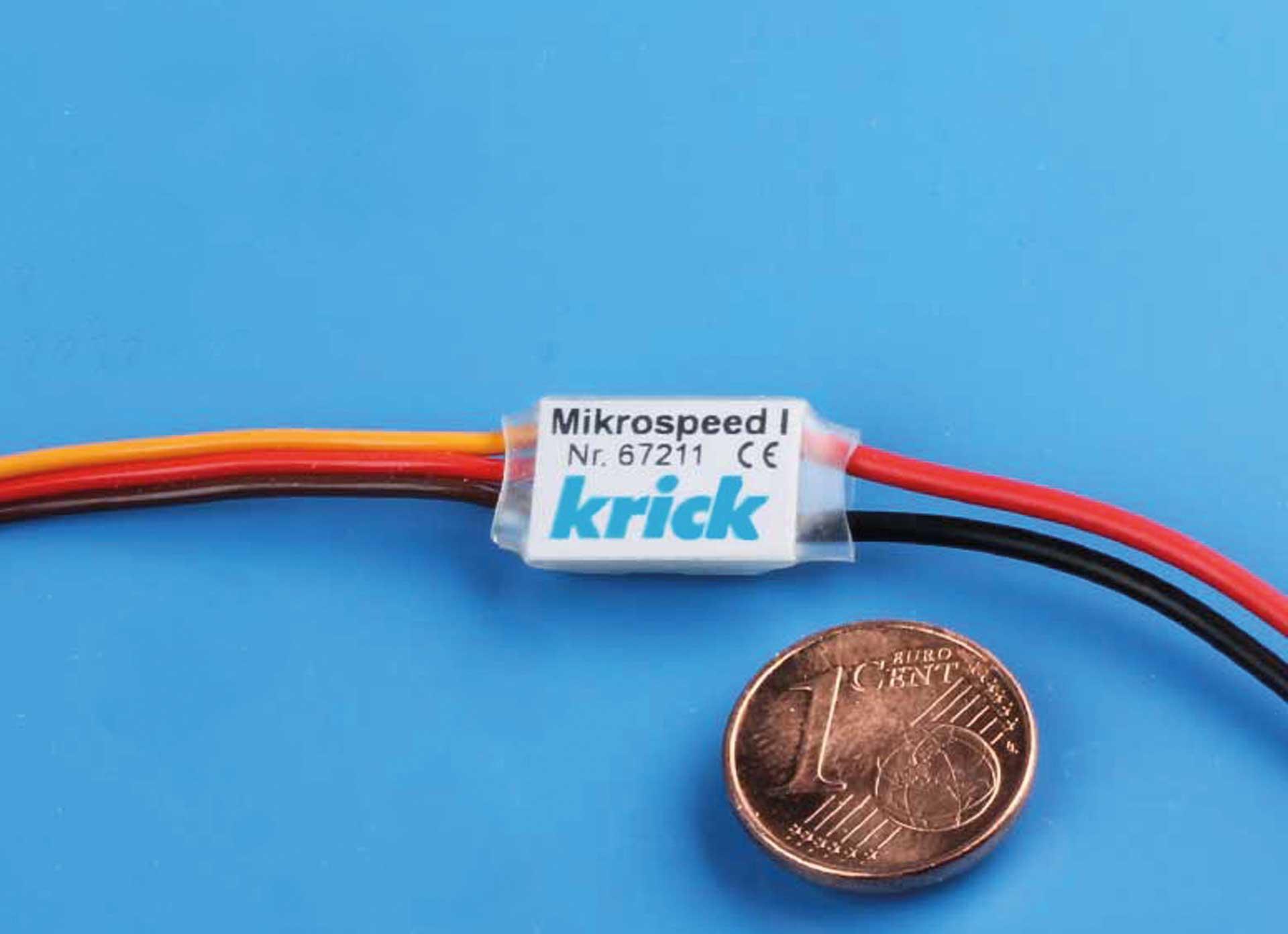 KRICK Mikrospeed 1 6V Regler