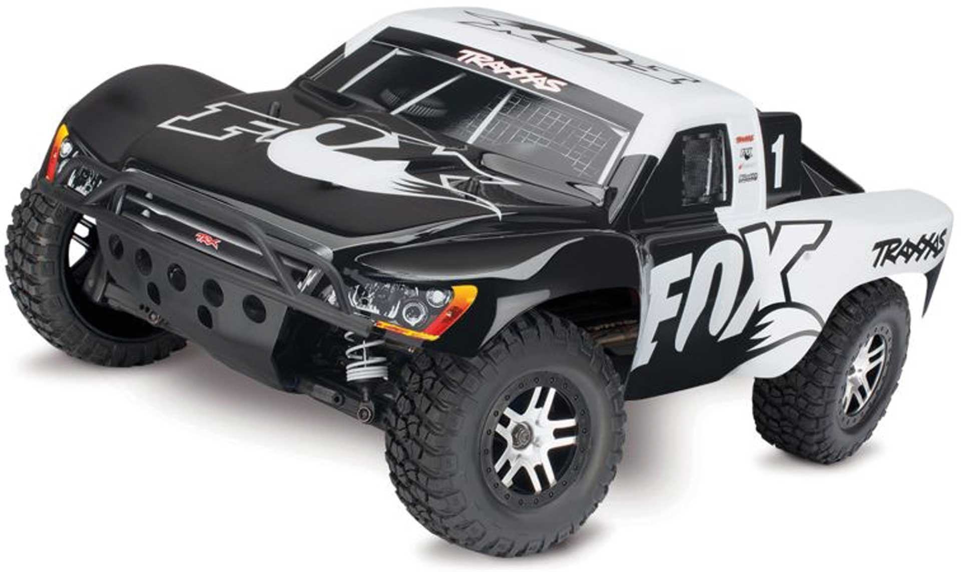 Traxxas SLASH 4X4 VXL FOX RTR OHNE AKKU/LADER 1/1 0 4WD SHORT-COURSE-RACE-TRUCK BRUSHLESS