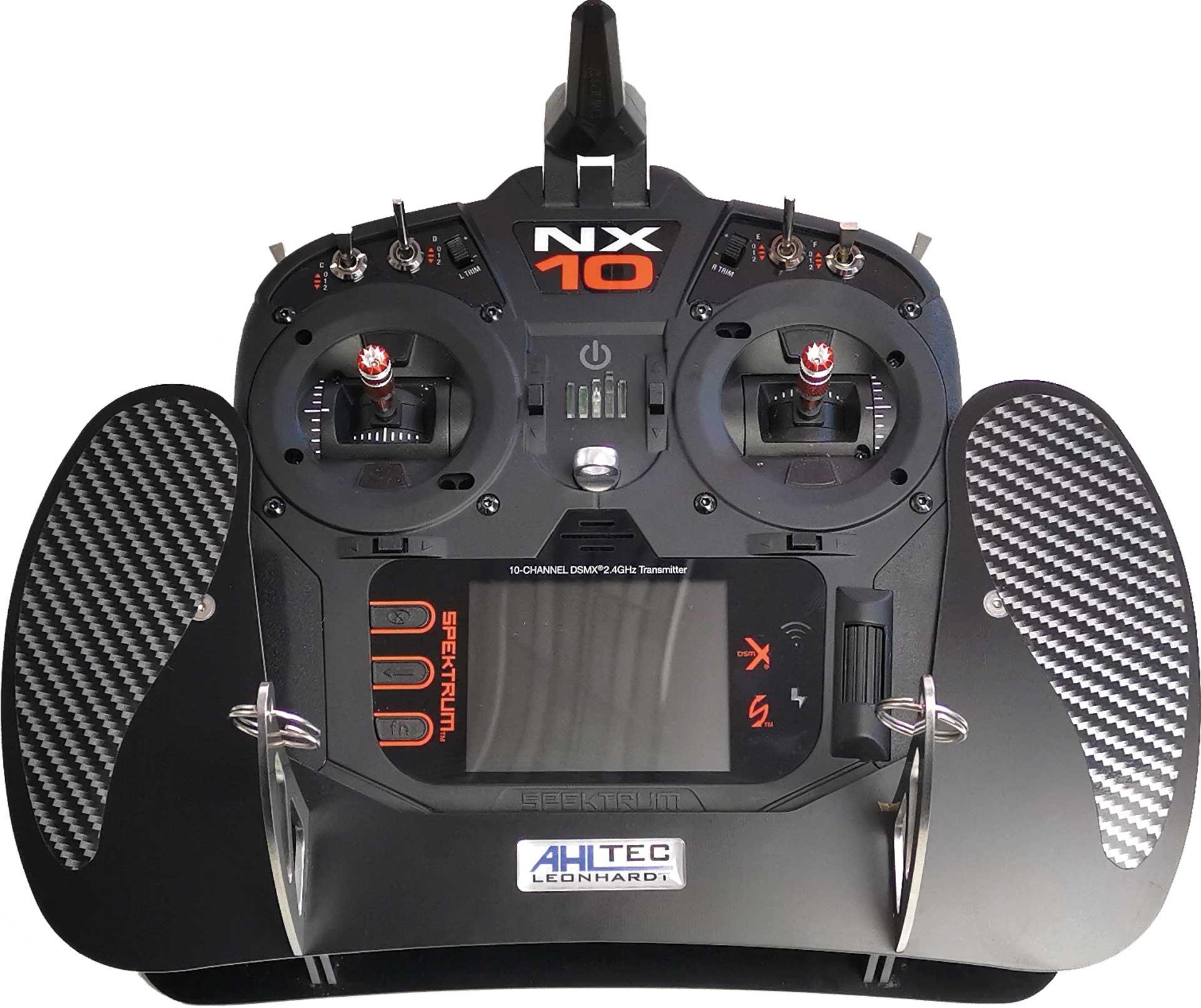 AHLTEC Senderpult Spektrum NX 6/8/10 ohne Handauflagen in schwarz