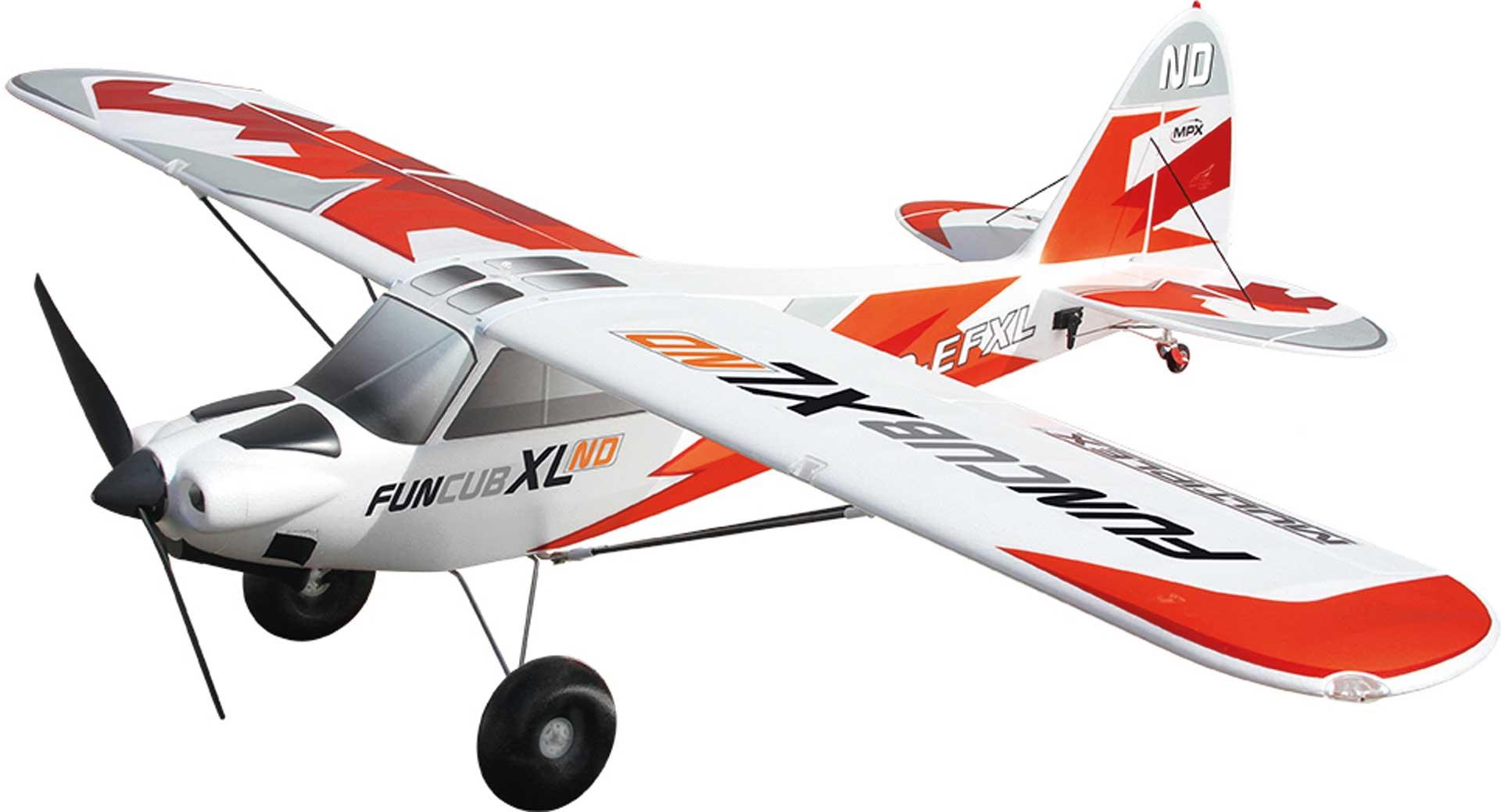 MULTIPLEX RR FunCub XL ND inkl. Antriebsset und Servos