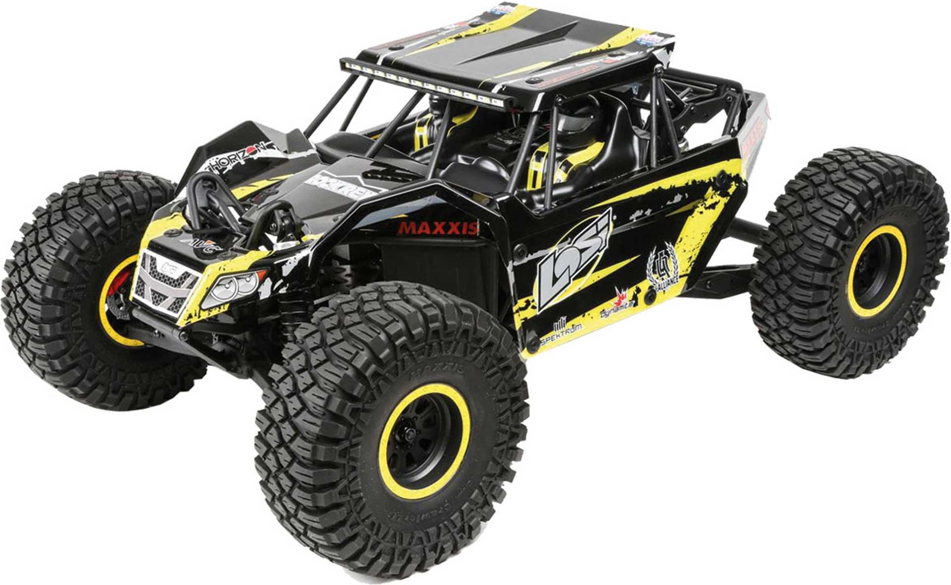 LOSI ROCK REY RTR 4WD 1/10 AVC GELB U4