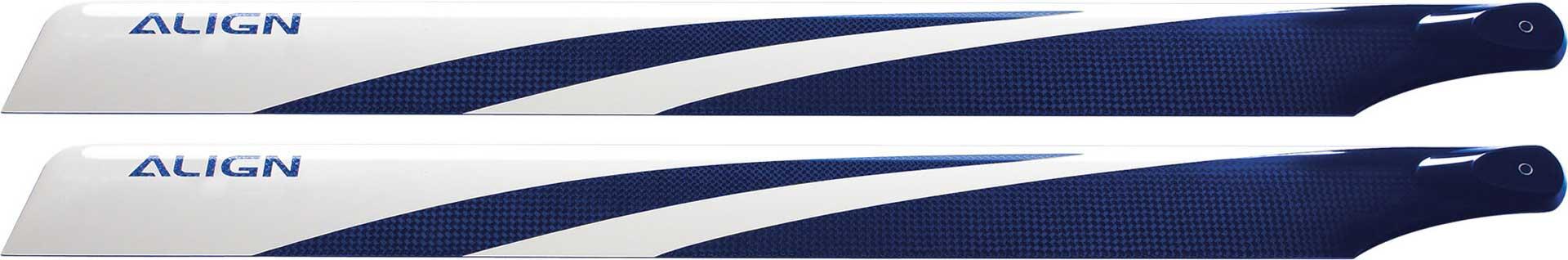 ALIGN 380 Carbon Hauptrotorblätter, blau