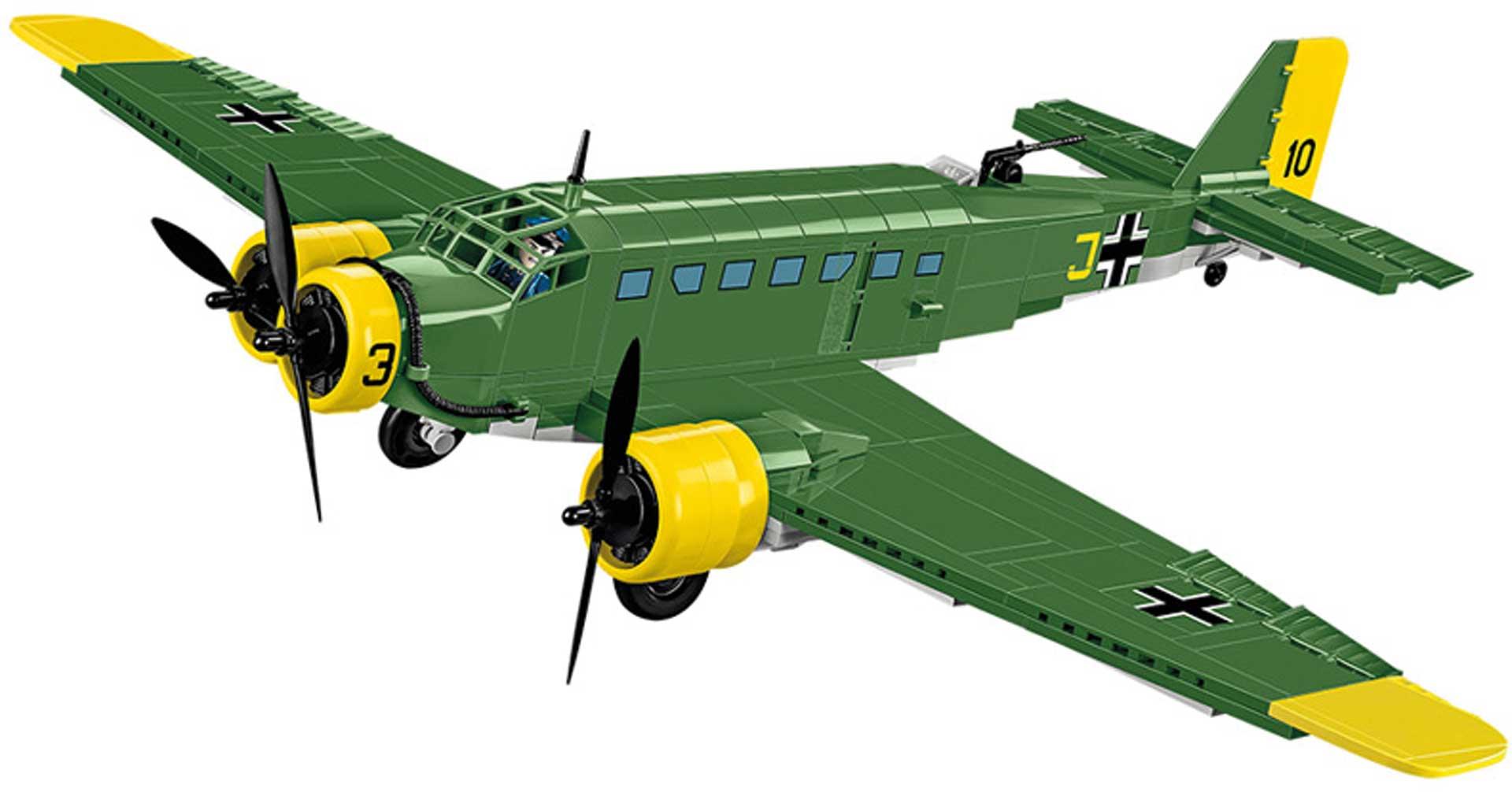 COBI Junkers JU 52/3M (548 Teile) Klemmbausteine