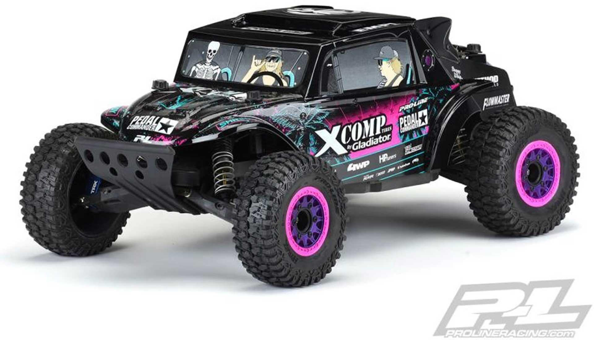 PROLINE Megalodon Desert Buggy Karosserie schwarz für Sl ash 2WD & 4X4 Blake Wilkey Edition Tough