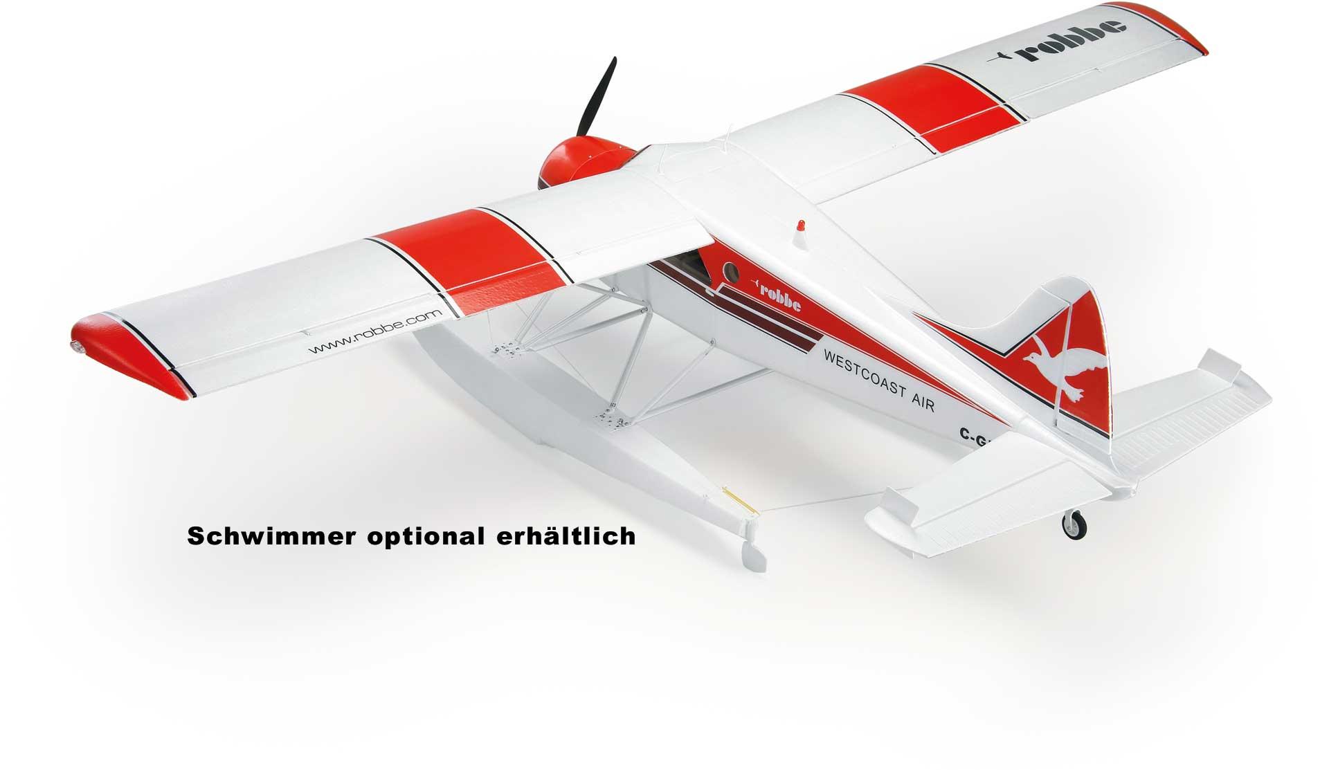 """Robbe Modellsport DHC-2 BEAVER """"AIR BEAVER"""" ROT PNP"""