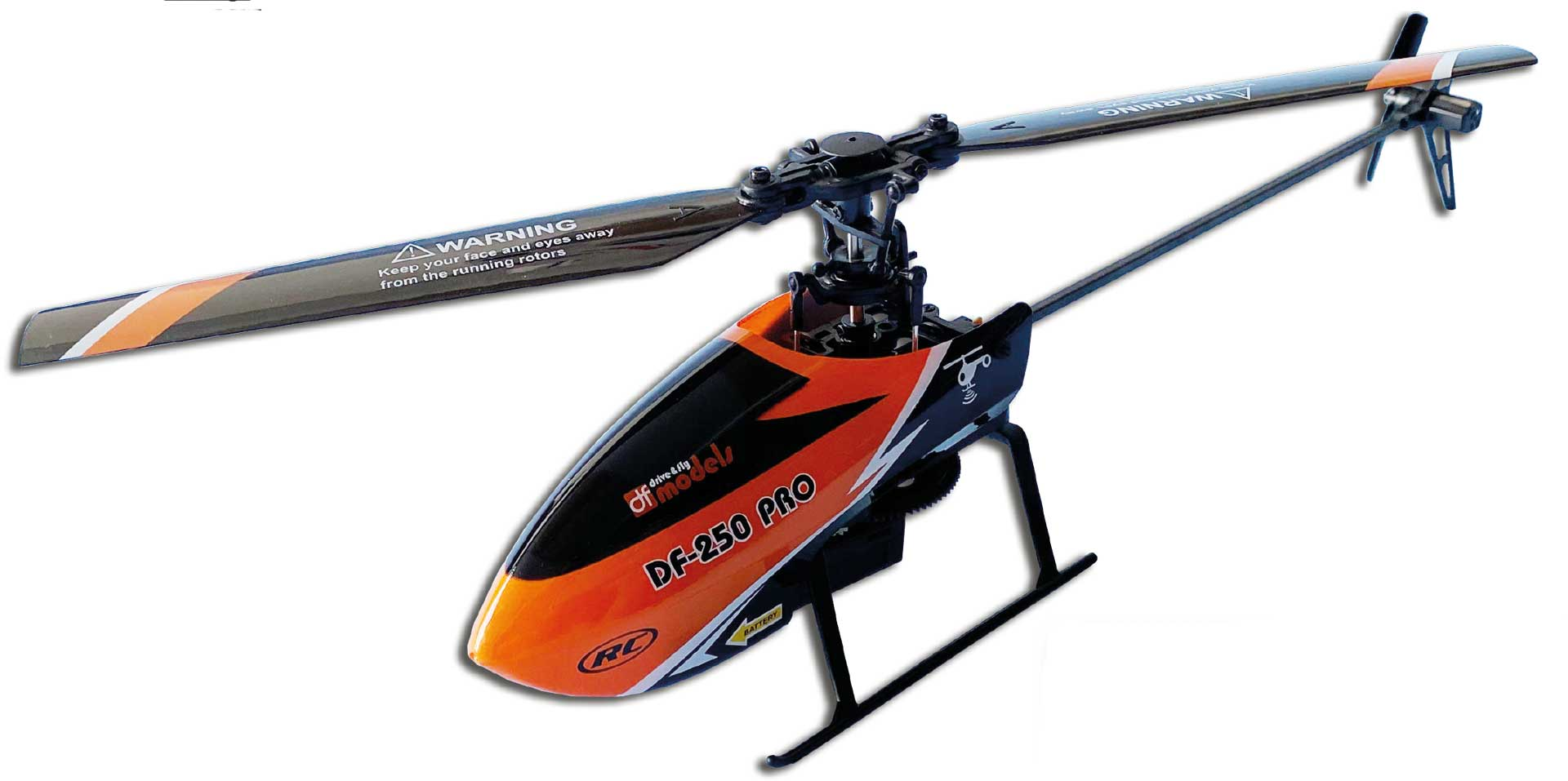 DRIVE & FLY MODELS DF-250 Helicopter RTF 2,4GHz