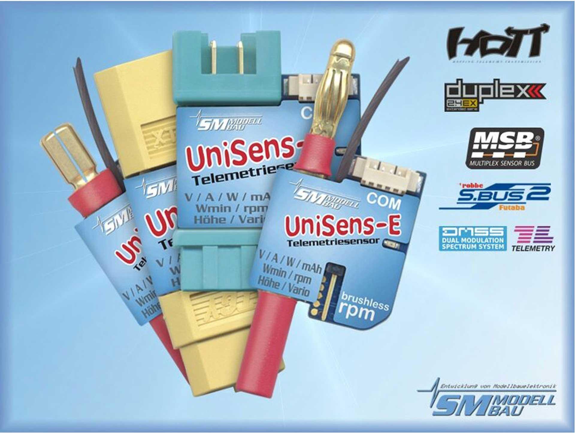SM-Modellbau UNISENS-E 140 A MIT XT-90 STECKER